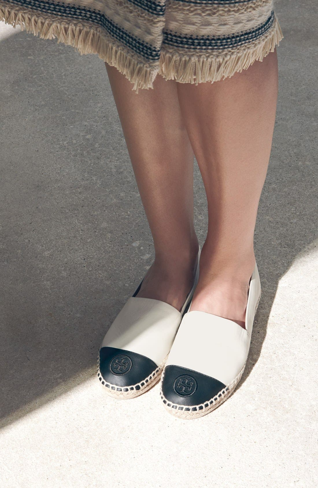 Alternate Image 5  - Tory Burch Colorblock Espadrille Flat (Women)