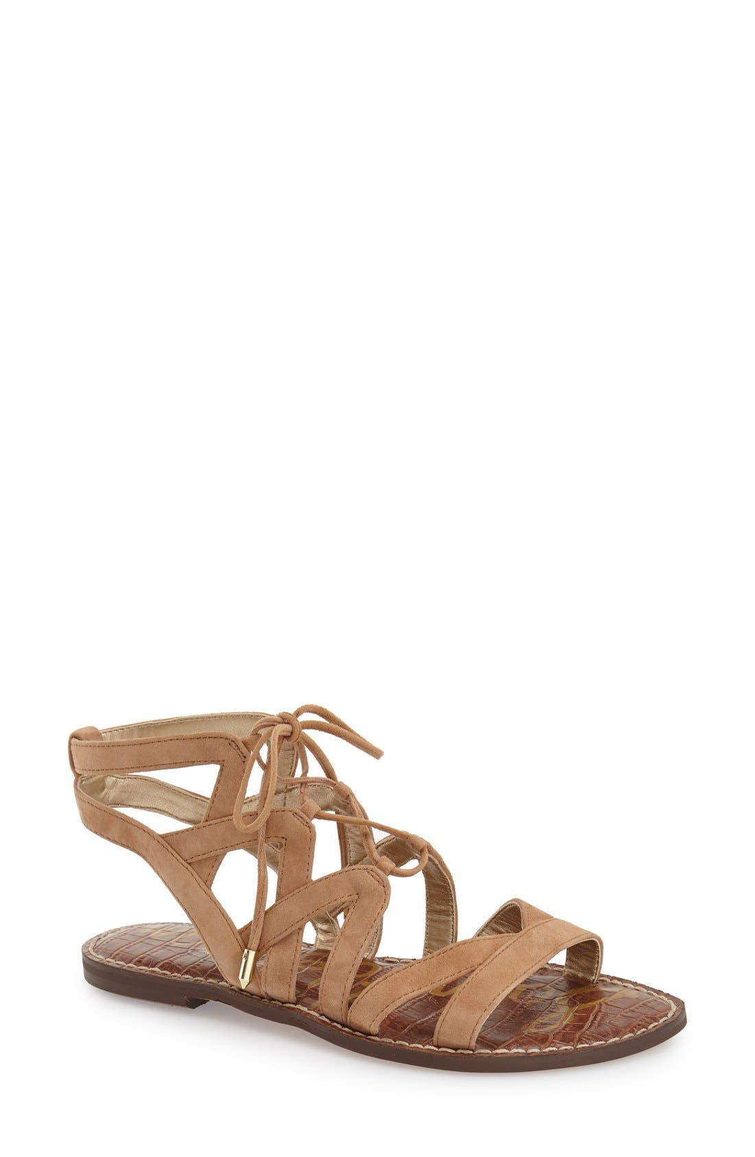 Alternate Image 1 Selected - Sam Edelman 'Gemma' Lace-Up Sandal (Women)