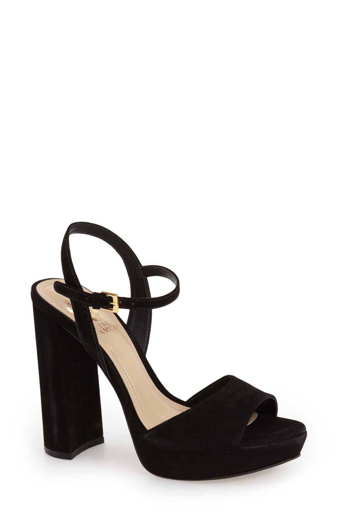 Alternate Image 1 Selected - Vince Camuto 'Krysta' Platform Sandal (Women)