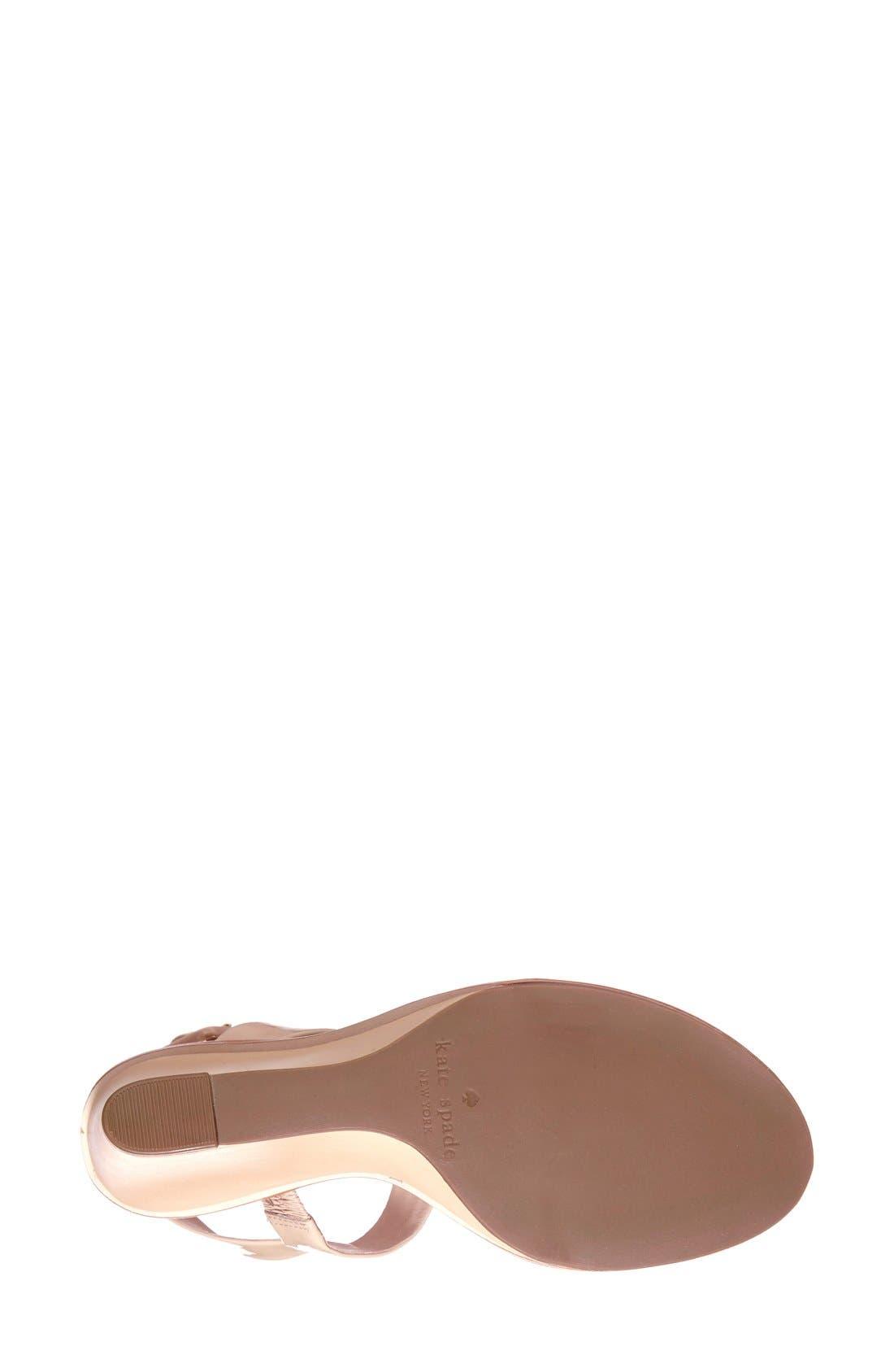 Alternate Image 4  - kate spade new york 'nice' sandal (Women)