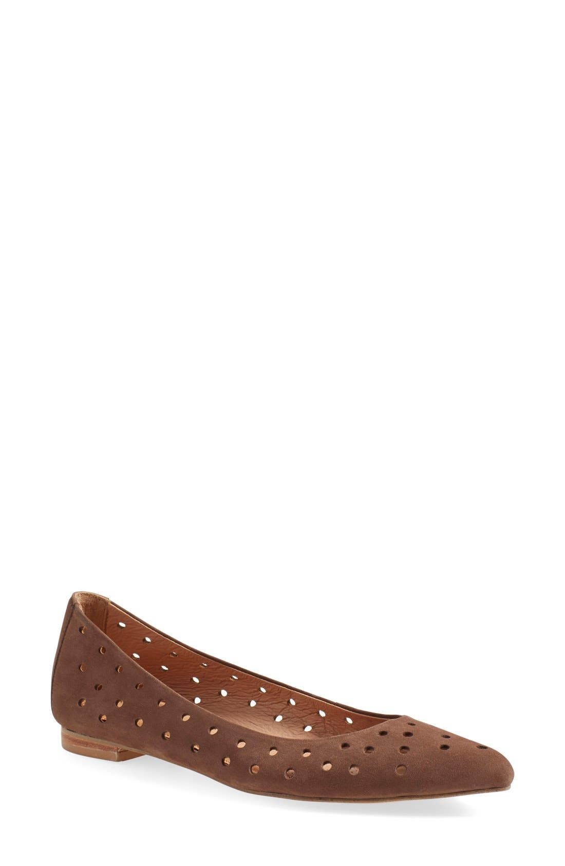 Alternate Image 1 Selected - Corso Como 'Gabrielle' Perforated Flat (Women)