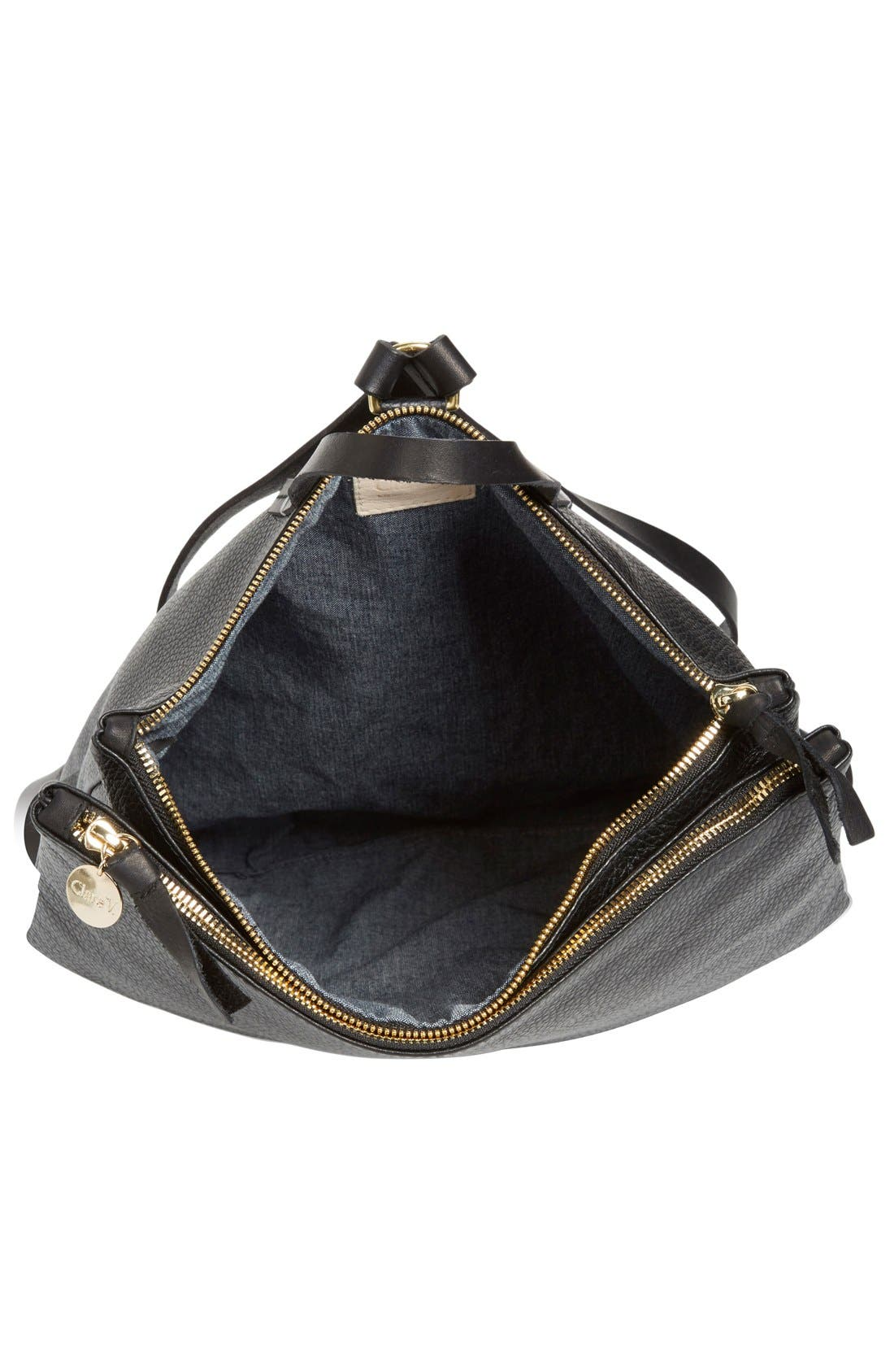 Alternate Image 4  - Clare V. 'Agnes Maison' Leather Backpack