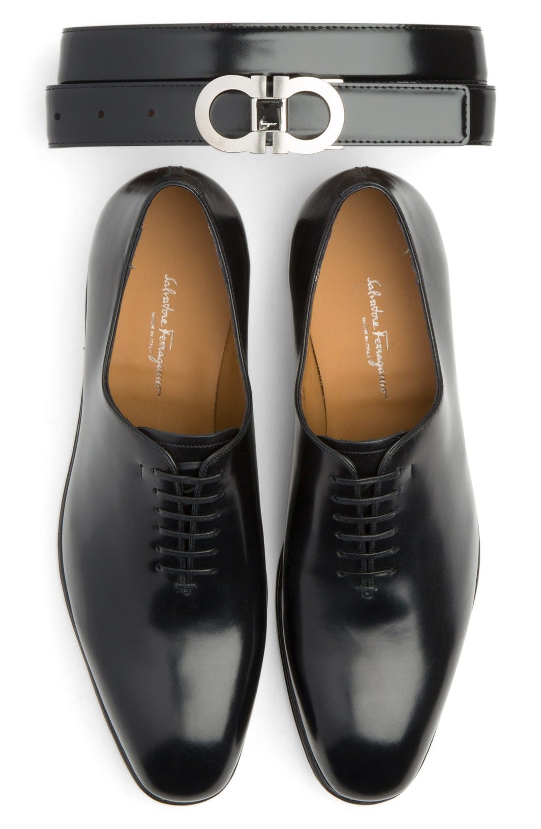 Alternate Image 5  - Salvatore Ferragamo 'Carmelo' Plain Toe Oxford