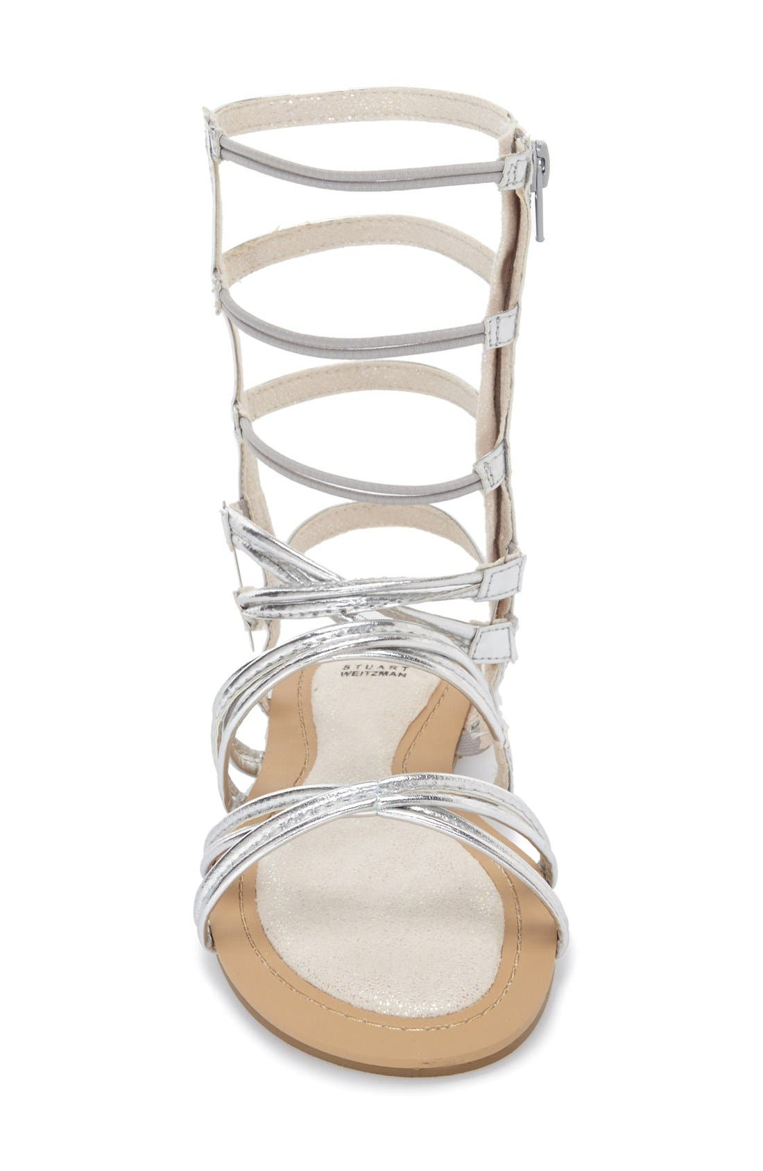Alternate Image 3  - Stuart Weitzman 'Camia Sparata' Gladiator Sandal (Little Kid & Big Kid)