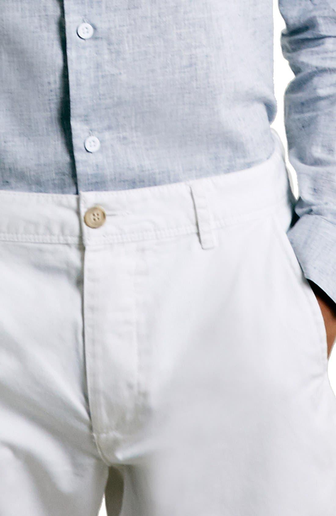 Alternate Image 7  - Topman Chino Shorts