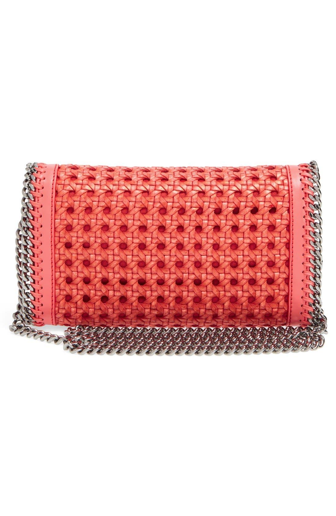 Alternate Image 3  - Stella McCartney 'Falabella - Caned' Faux Leather Crossbody Bag