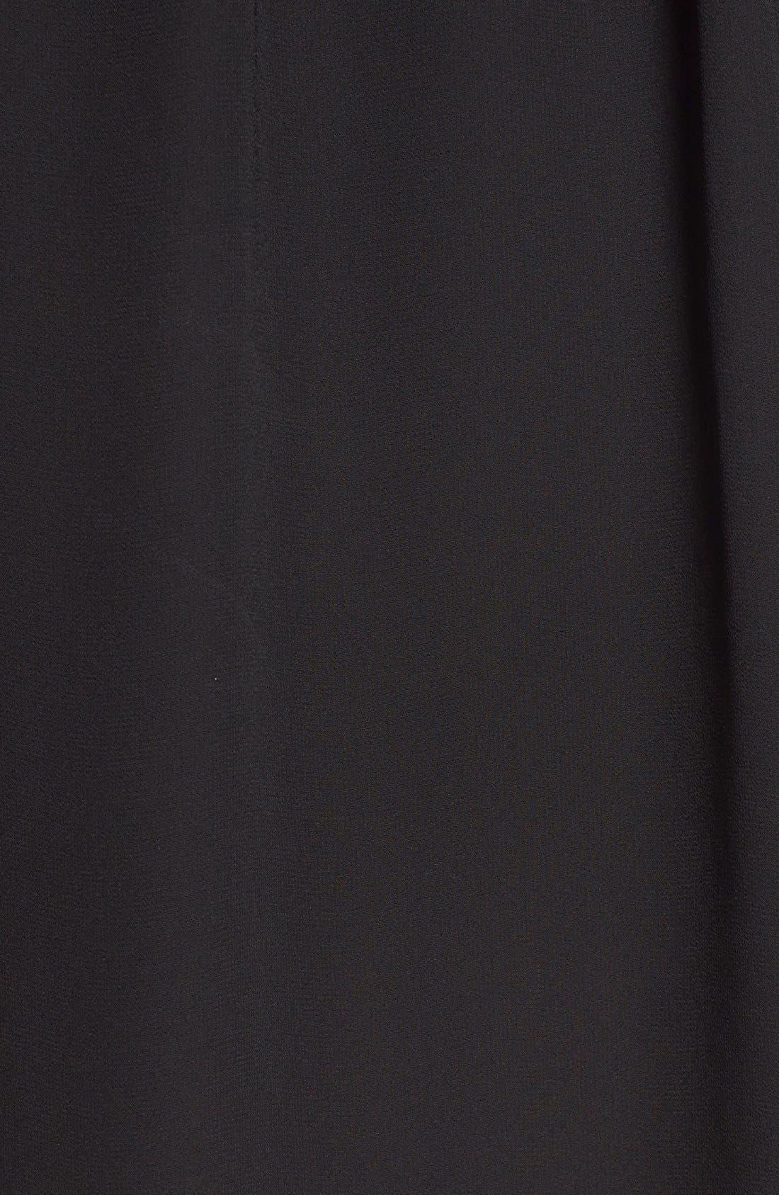 Alternate Image 5  - Lush Pleat Detail Chiffon Trapeze Dress