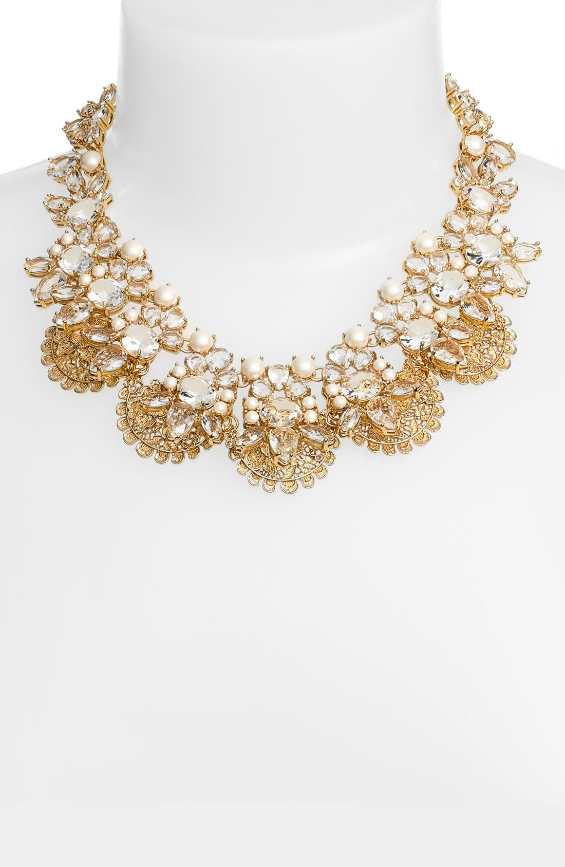 Alternate Image 2  - kate spade new york 'chantilly gems' statement necklace