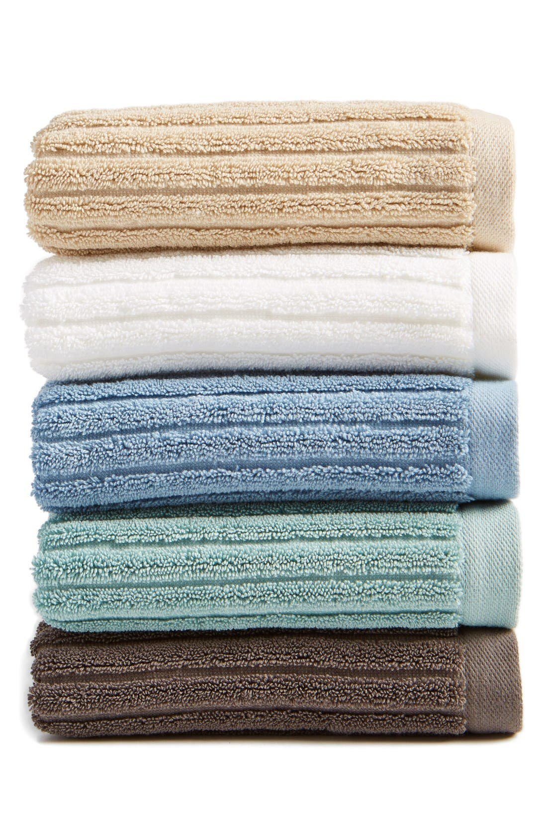 Alternate Image 1 Selected - Nordstrom at Home 'Modern Rib' Hand Towel (2 for $24)