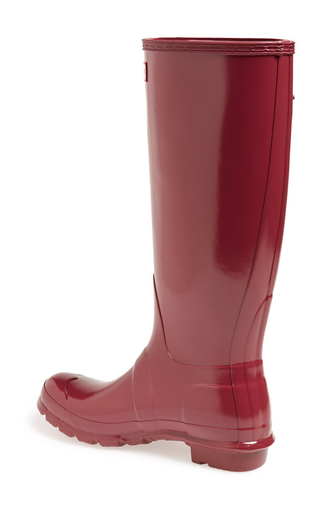 Alternate Image 4  - Hunter Original High Gloss Boot (Women)