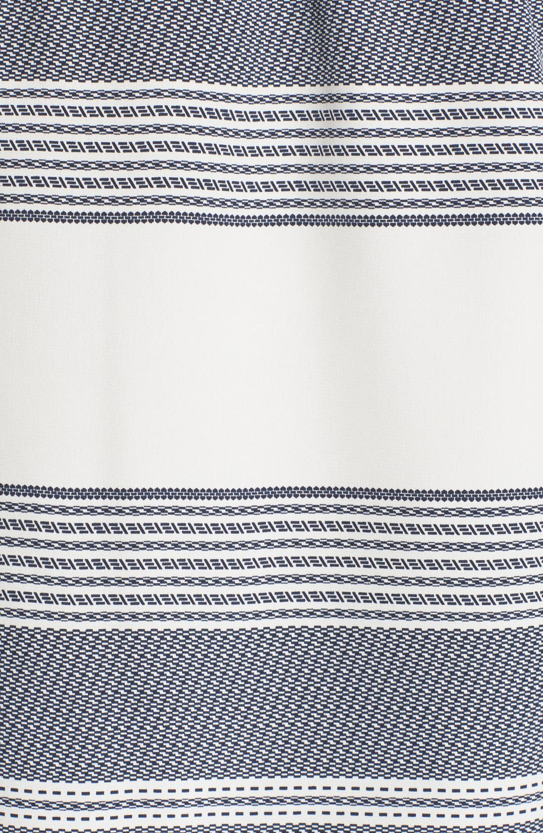 Alternate Image 5  - Derek Lam 10 Crosby Off the Shoulder Stripe Silk Top
