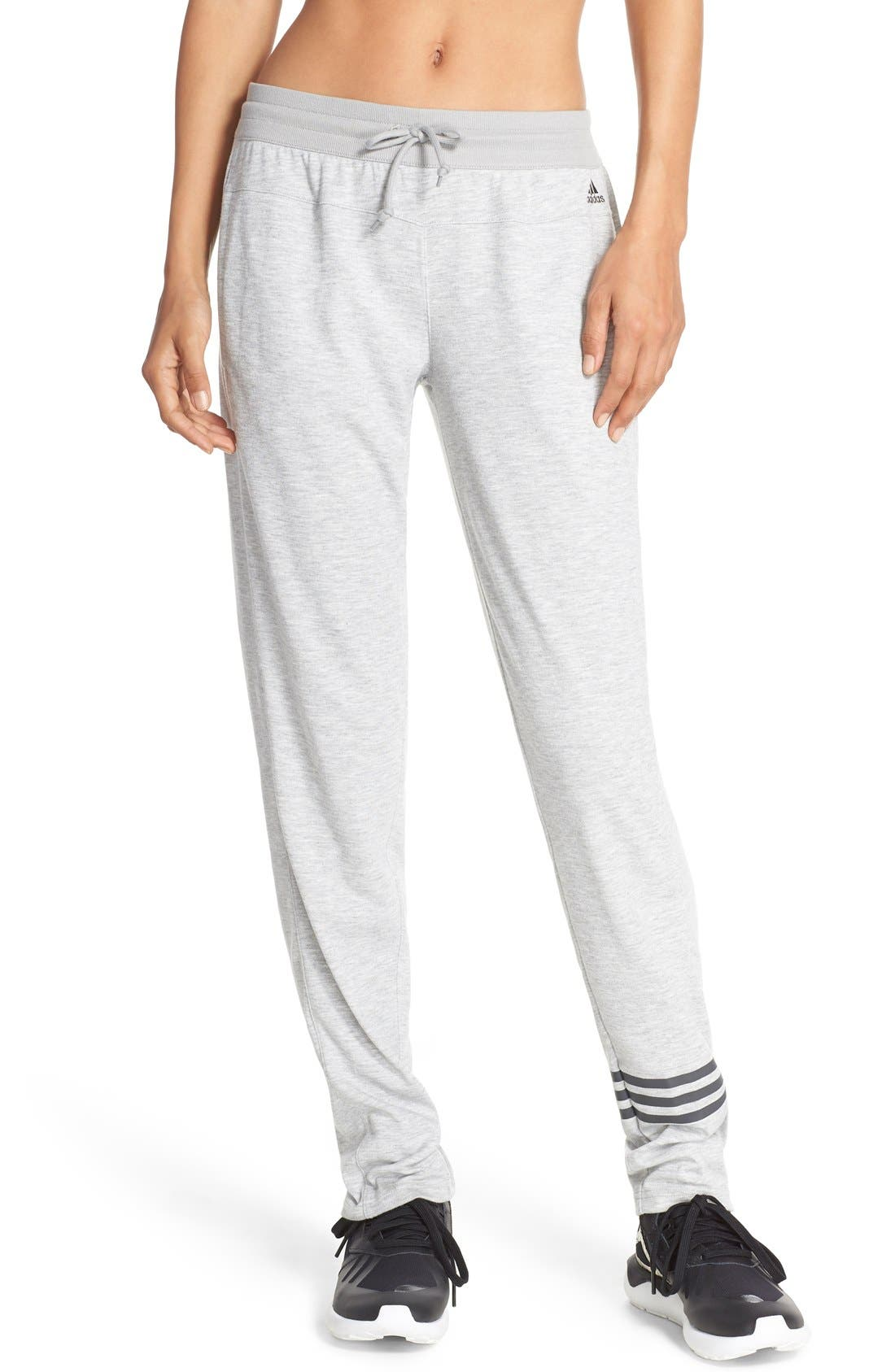 Alternate Image 1 Selected - adidas '2Love' Tapered Sweatpants