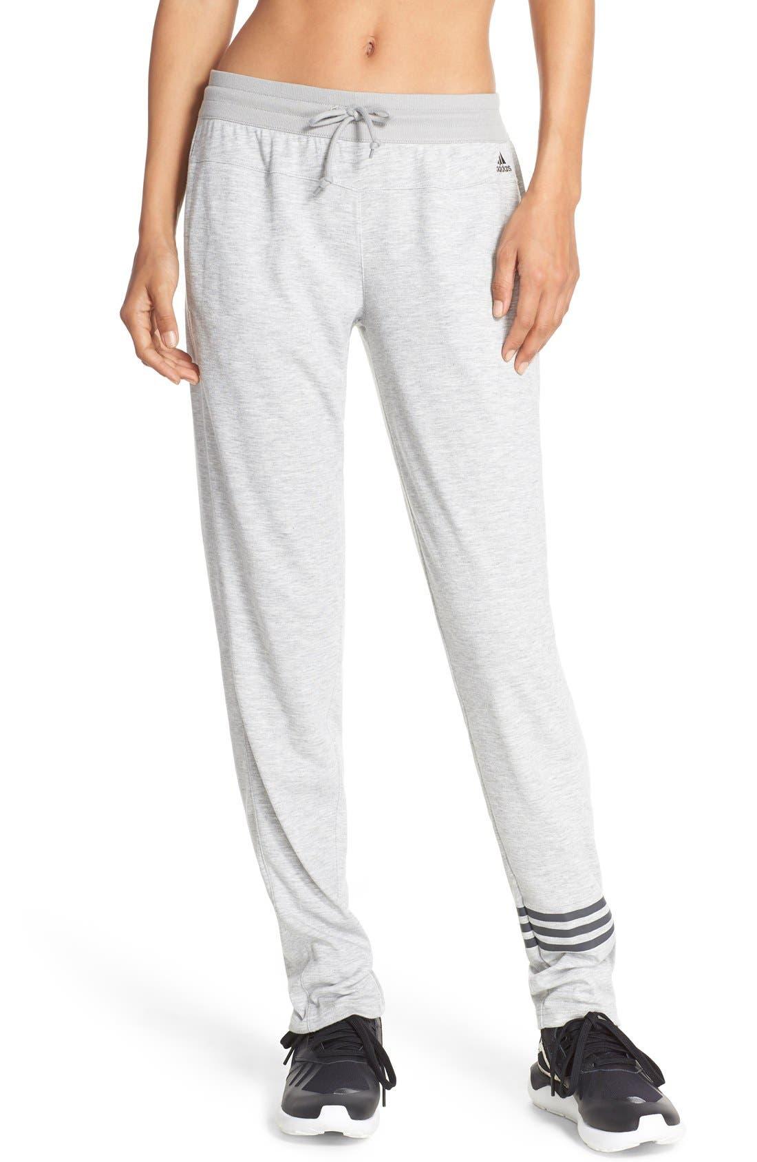 Main Image - adidas '2Love' Tapered Sweatpants