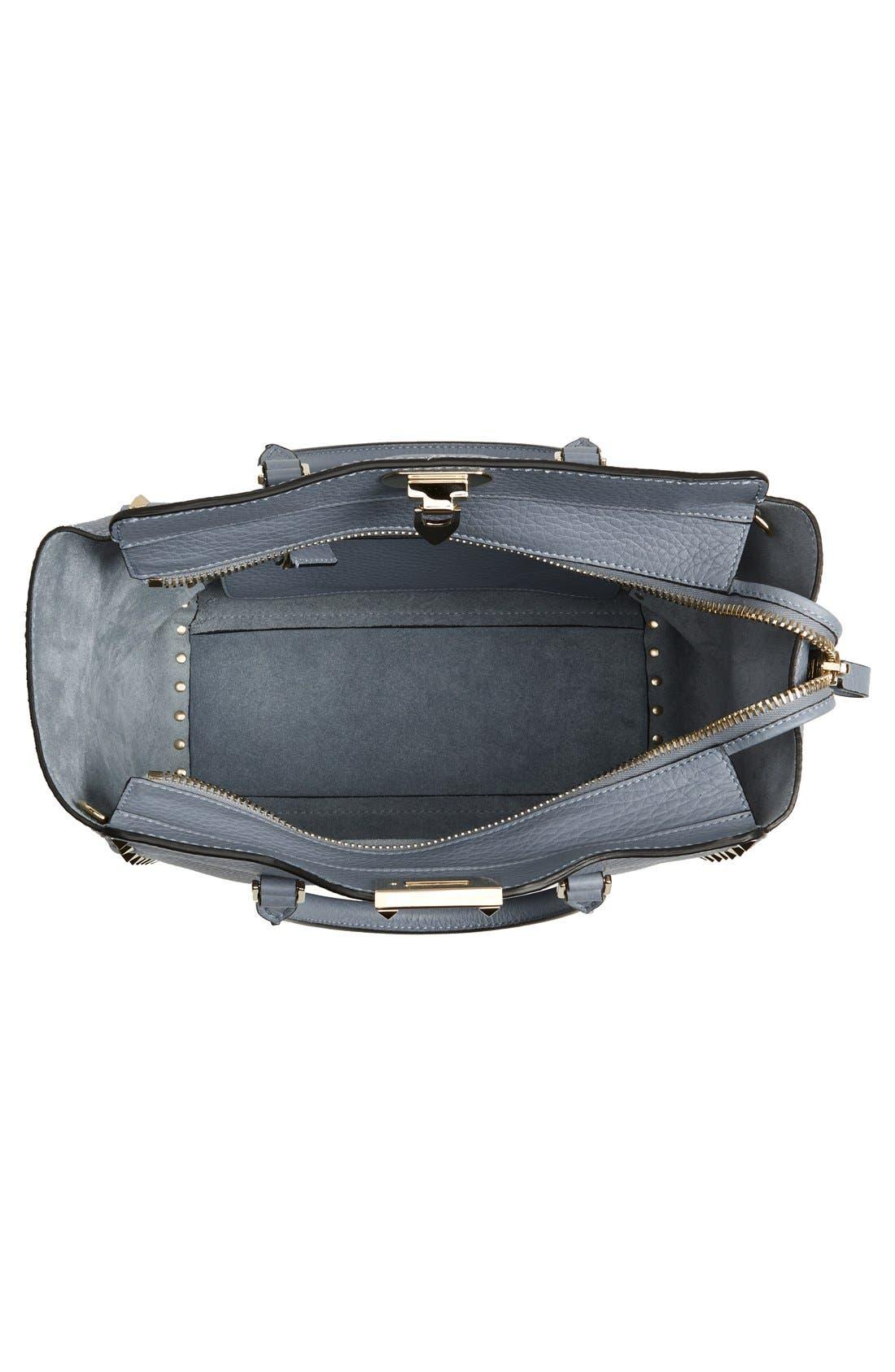 Alternate Image 4  - Valentino 'Rockstud Double Handle' Leather Tote