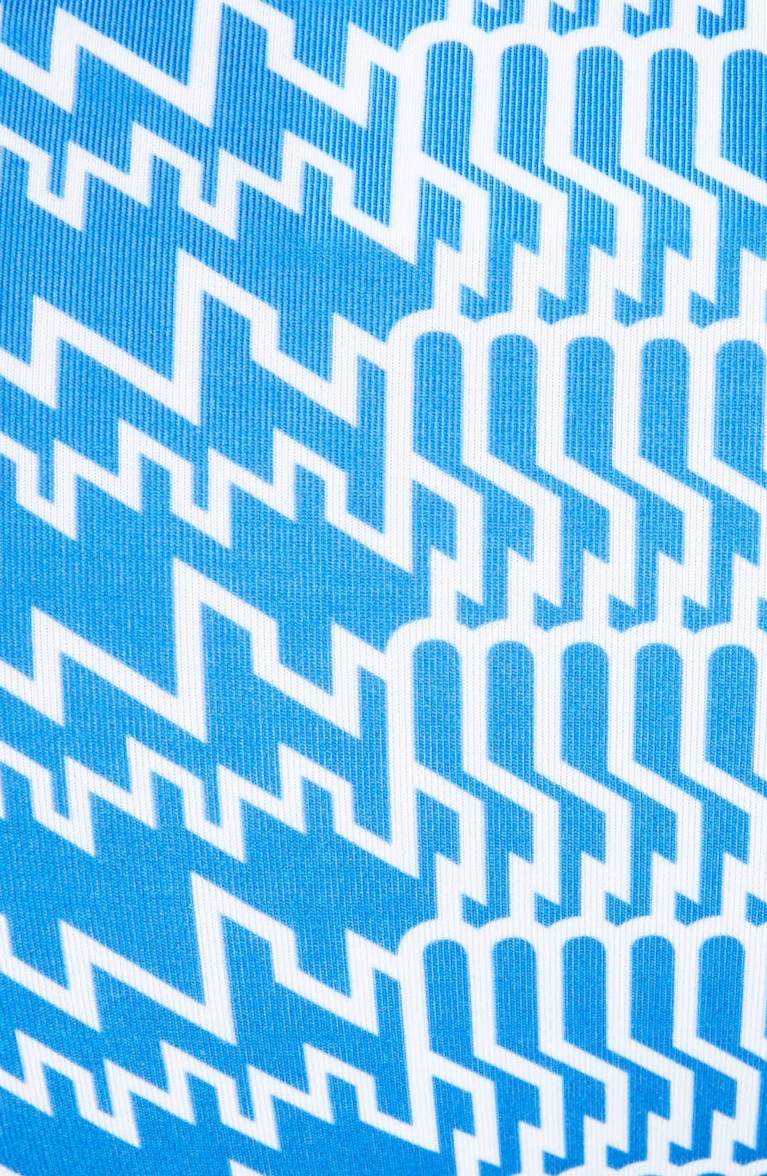 Alternate Image 4  - KENZO 'Houndstooth' Print Two-Piece Swimsuit