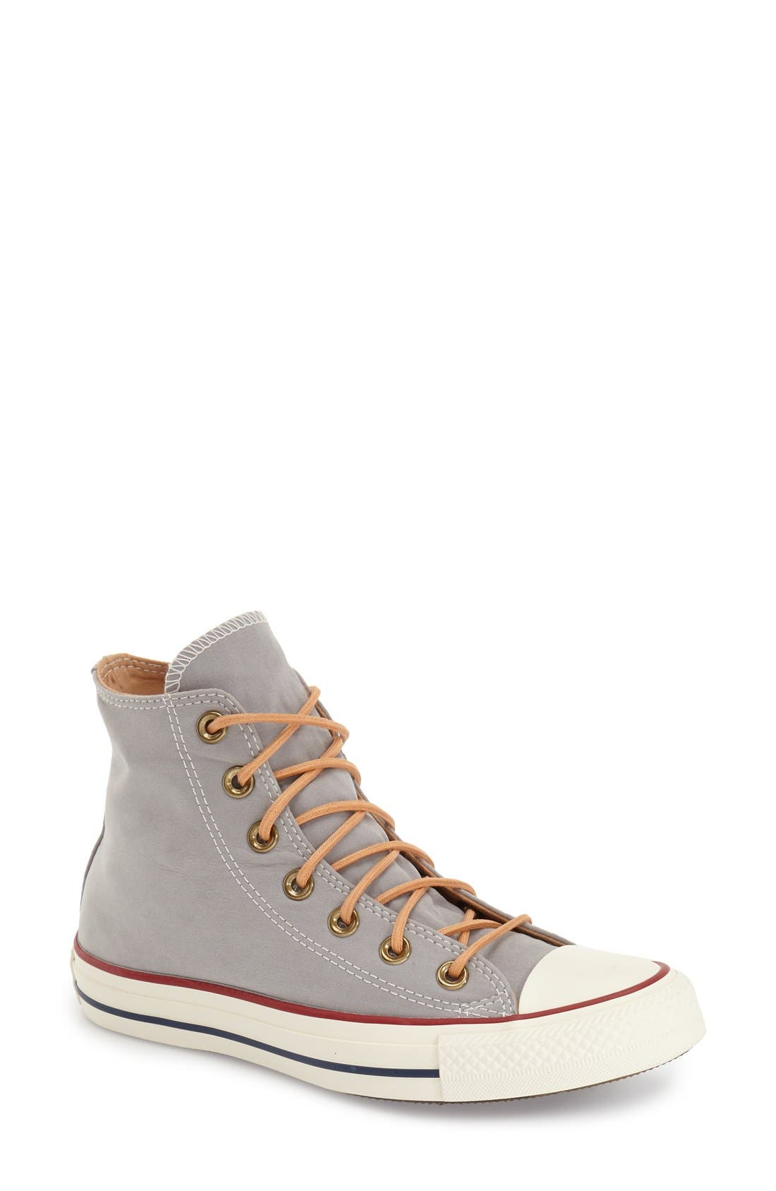 Alternate Image 1 Selected - Converse Chuck Taylor® All Star® 'Peached' High Top Sneaker (Women)