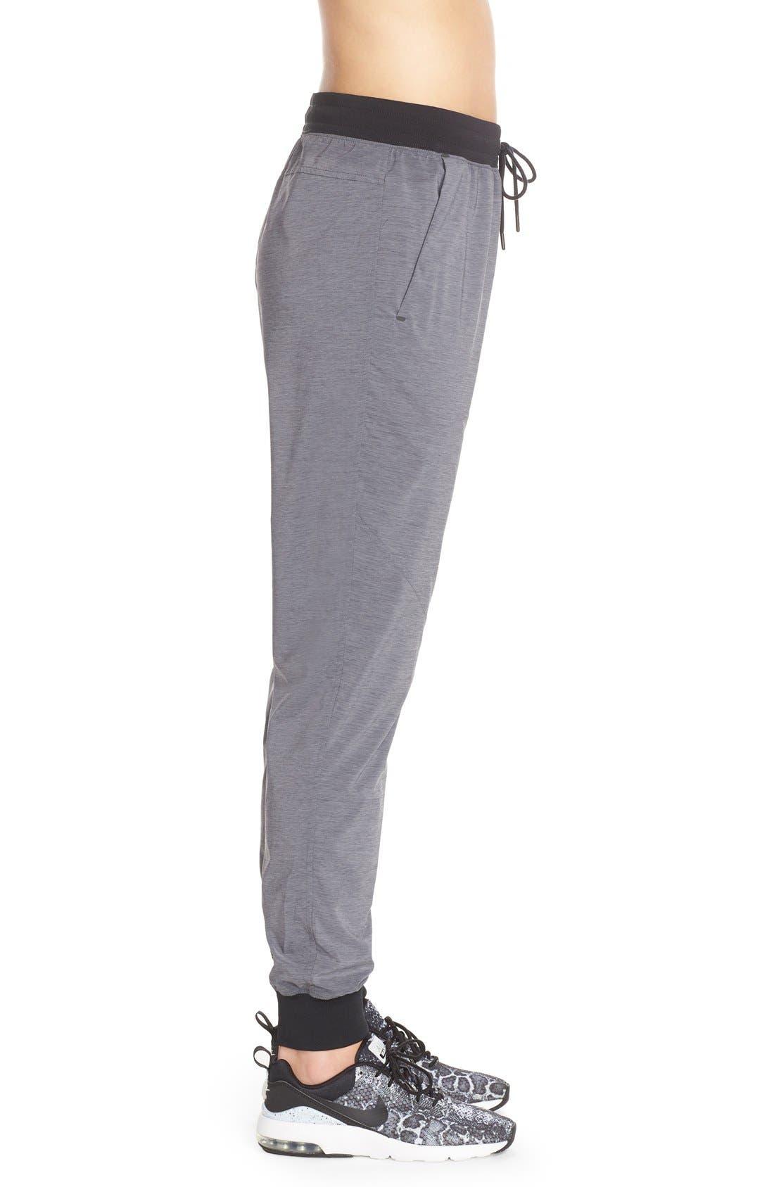 Alternate Image 3  - Nike Bonded Woven Pants