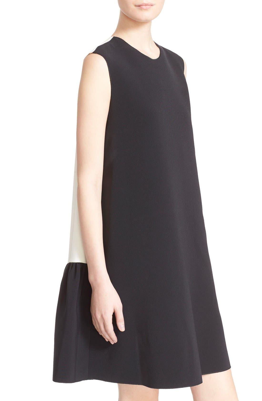 Alternate Image 6  - Roksanda 'Fuji' Colorblock Ruffle Hem Trapeze Dress