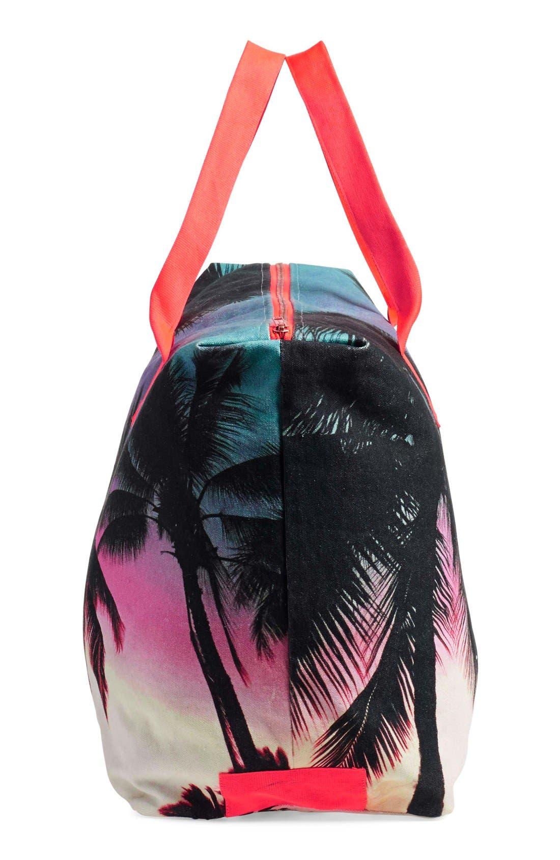 Alternate Image 4  - Samudra 'Makaha Sunset' Canvas Weekend Bag