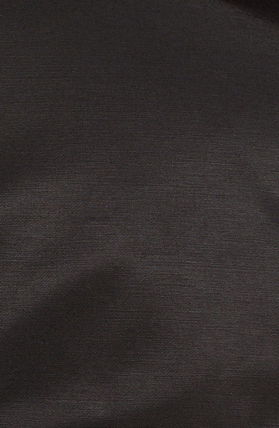 Alternate Image 5  - BCBGeneration Short Double Breasted Skirted Trench Coat