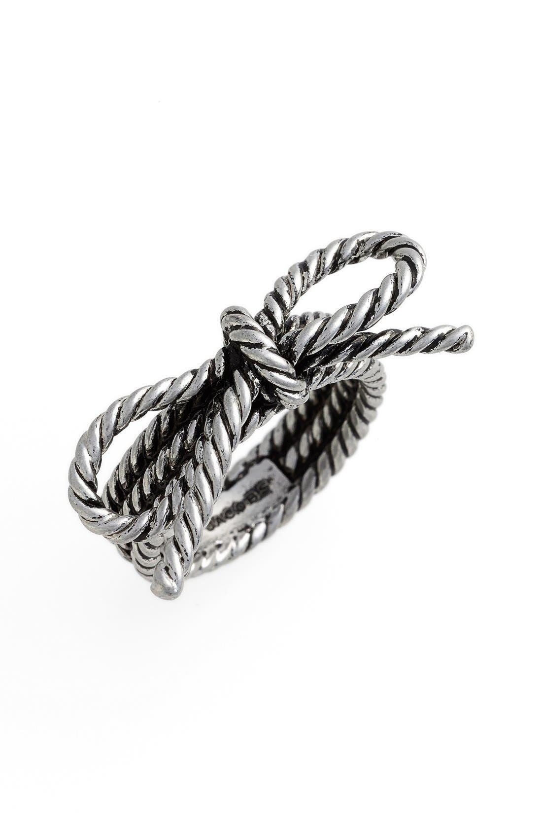 Main Image - MARC JACOBS Rope Bow Ring