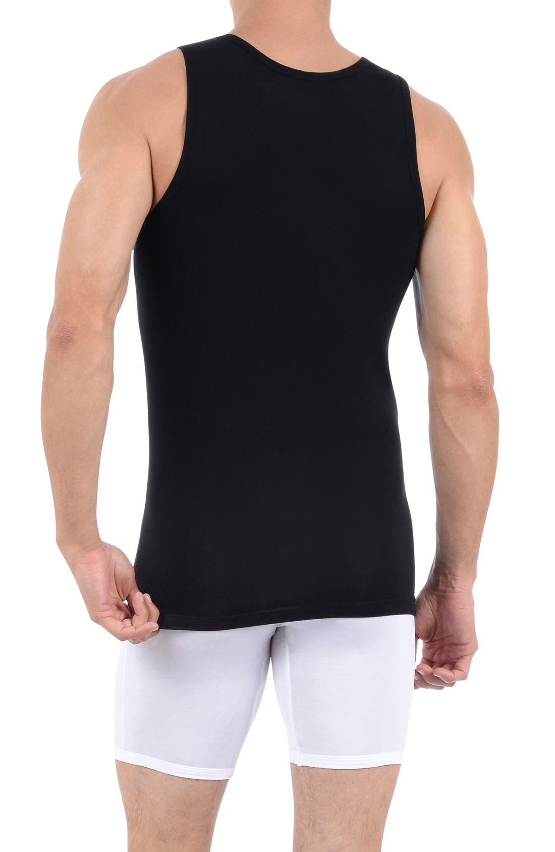 Alternate Image 2  - Tommy John 'Second Skin' Tank Undershirt
