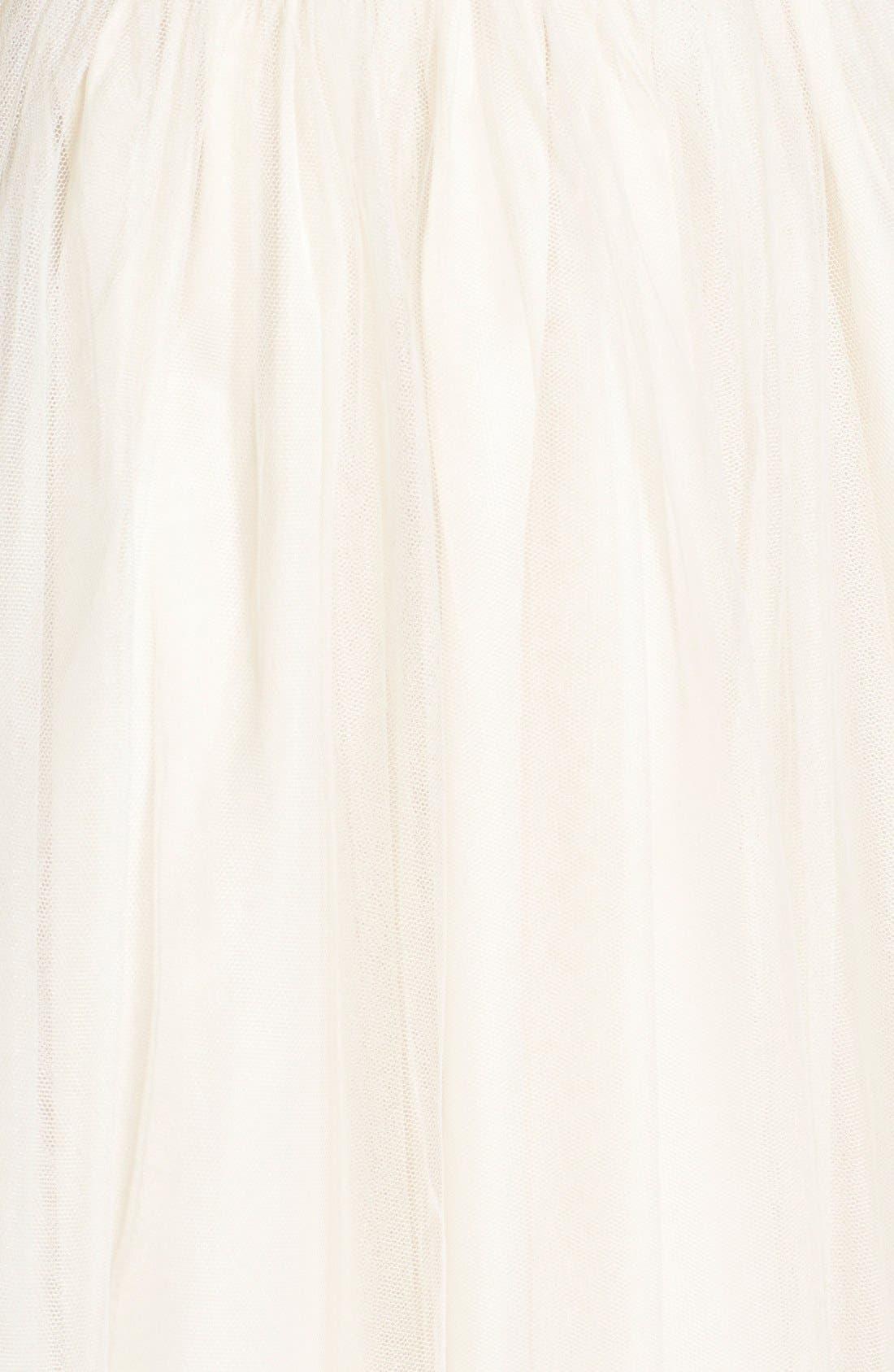 Alternate Image 5  - Soloiste 'Kacey' Sequin Tulle Skater Dress