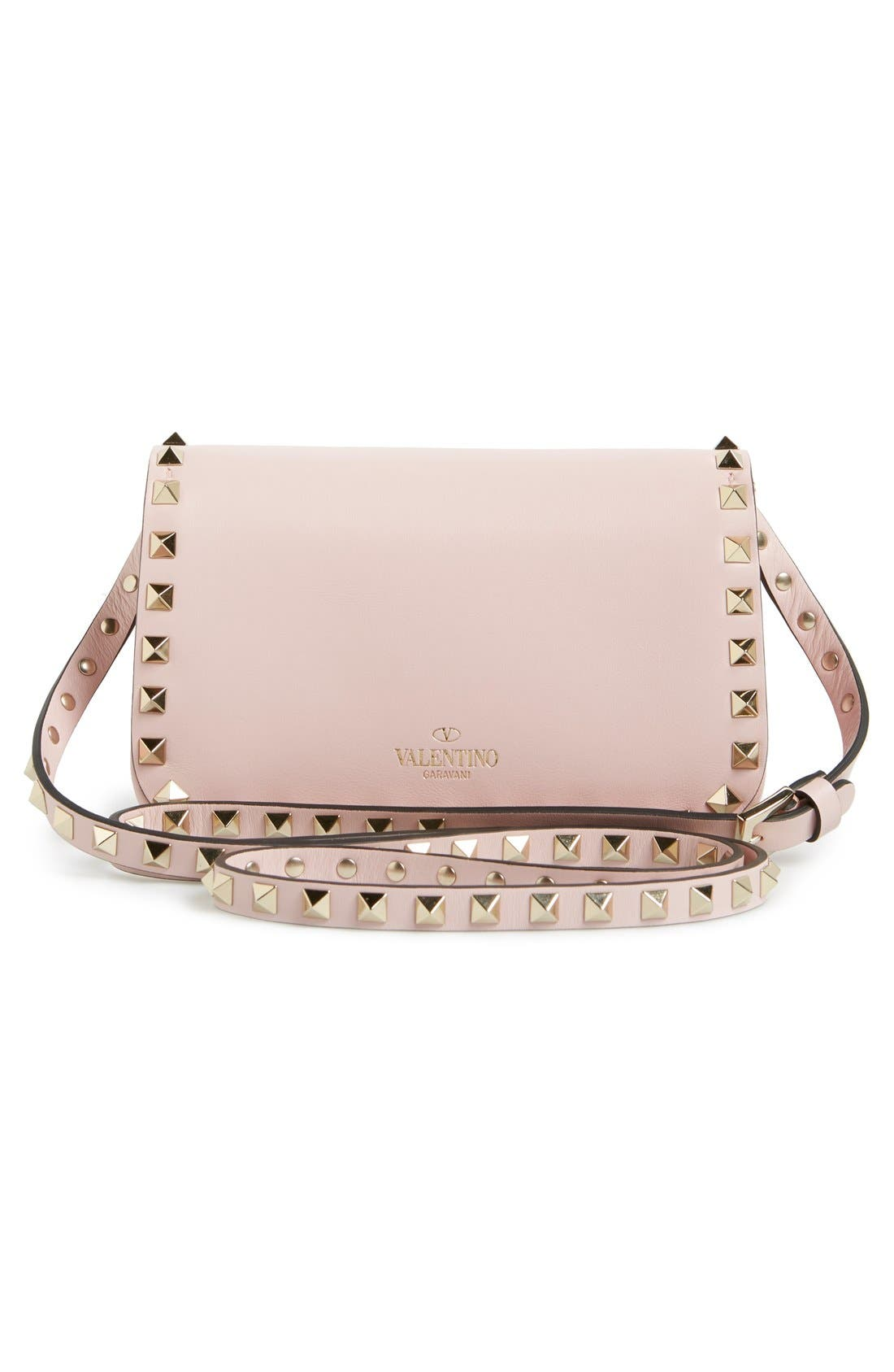 Alternate Image 6  - Valentino 'Mini Rockstud' Crossbody Bag