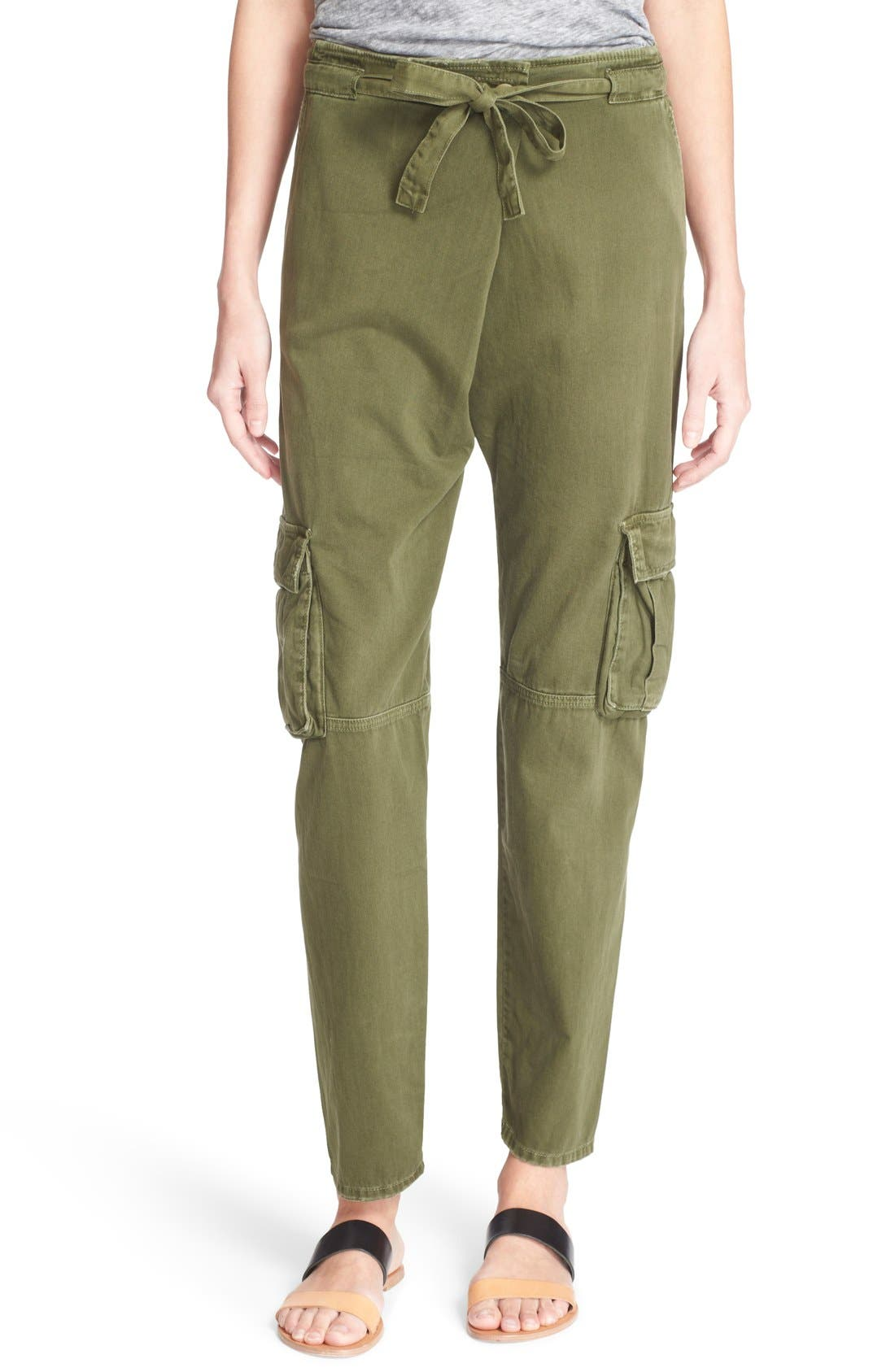 Alternate Image 1 Selected - Current/Elliott 'The Buddy' Cotton Twill Trousers