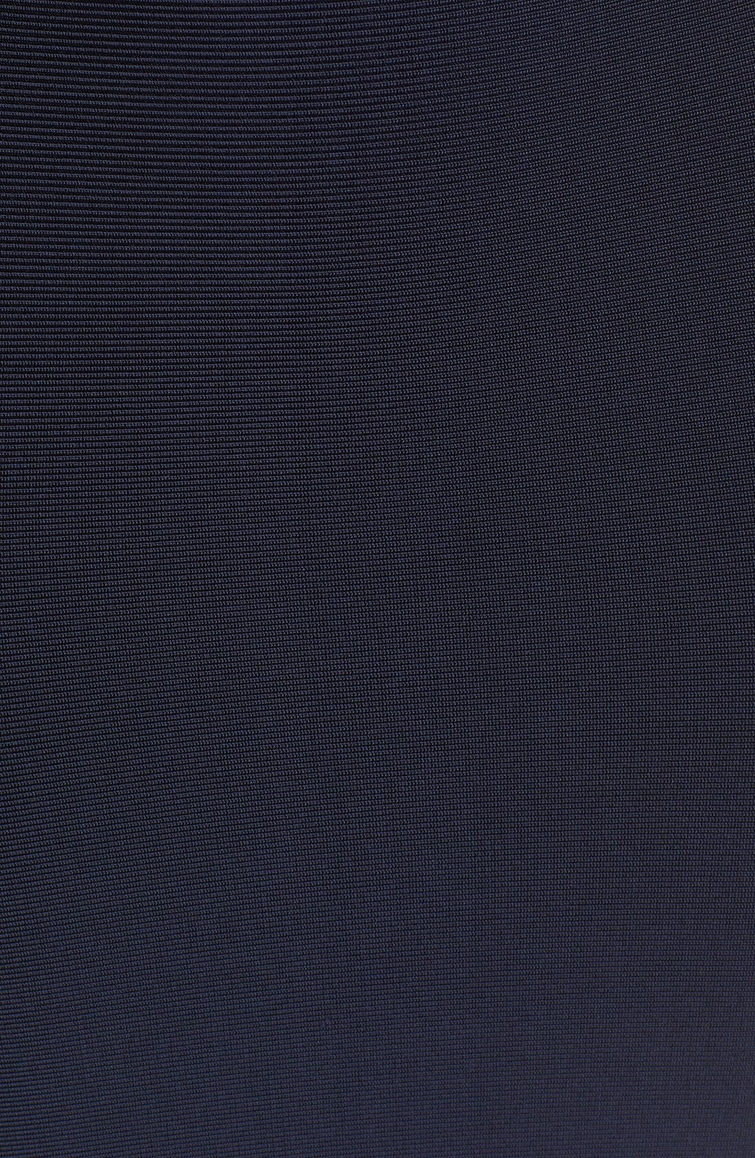 Alternate Image 3  - Herve Leger Openwork Diamond Trim Bandage Dress