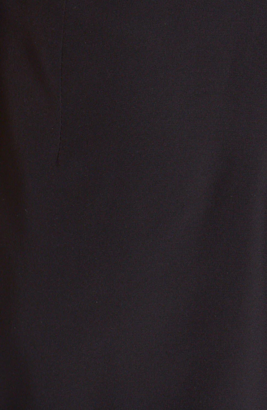 Alternate Image 6  - Parker 'Kamal' Illusion Lace Silk Romper