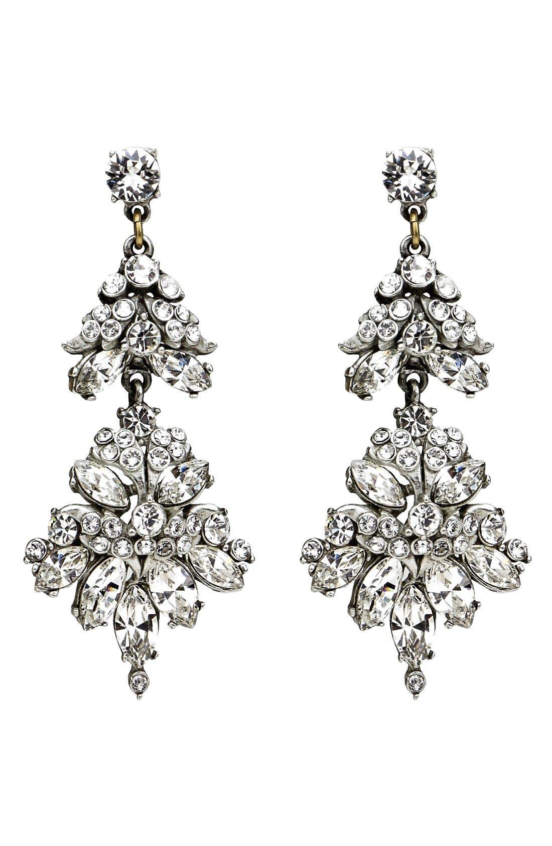 Alternate Image 1 Selected - Ben-Amun Crystal Statement Earrings