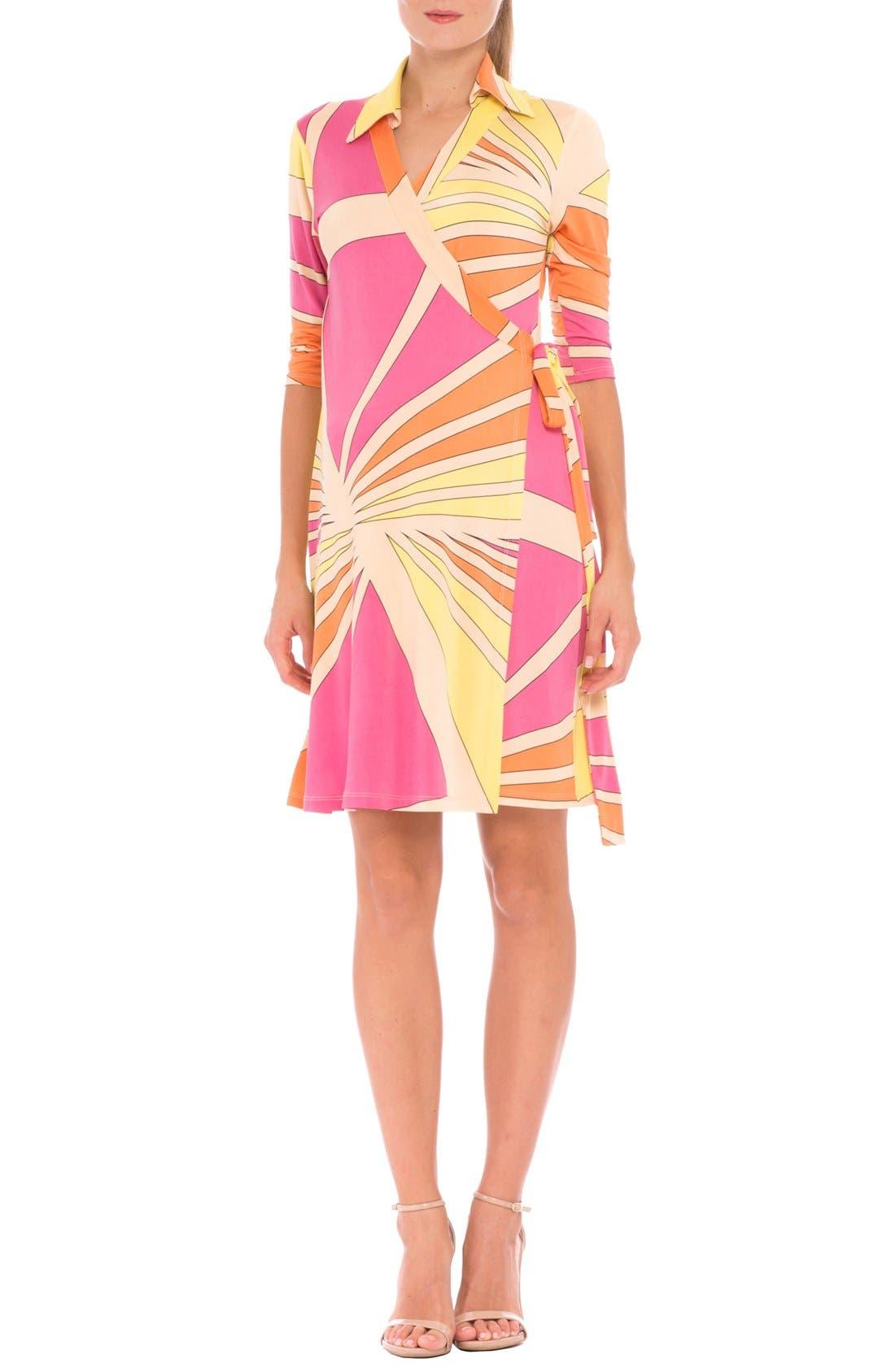 Olian 'Trisha' Matnernity Wrap Dress