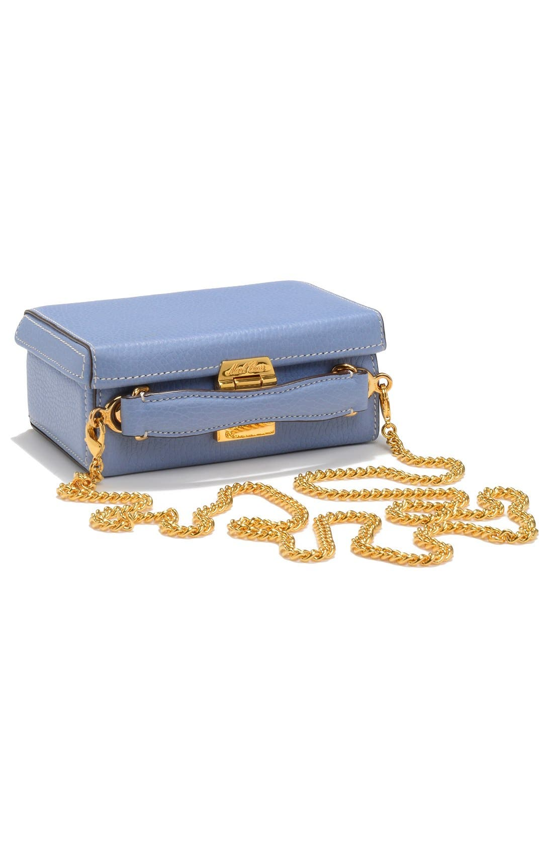Alternate Image 3  - Mark Cross 'Mini Grace' Pebbled Leather Box Bag