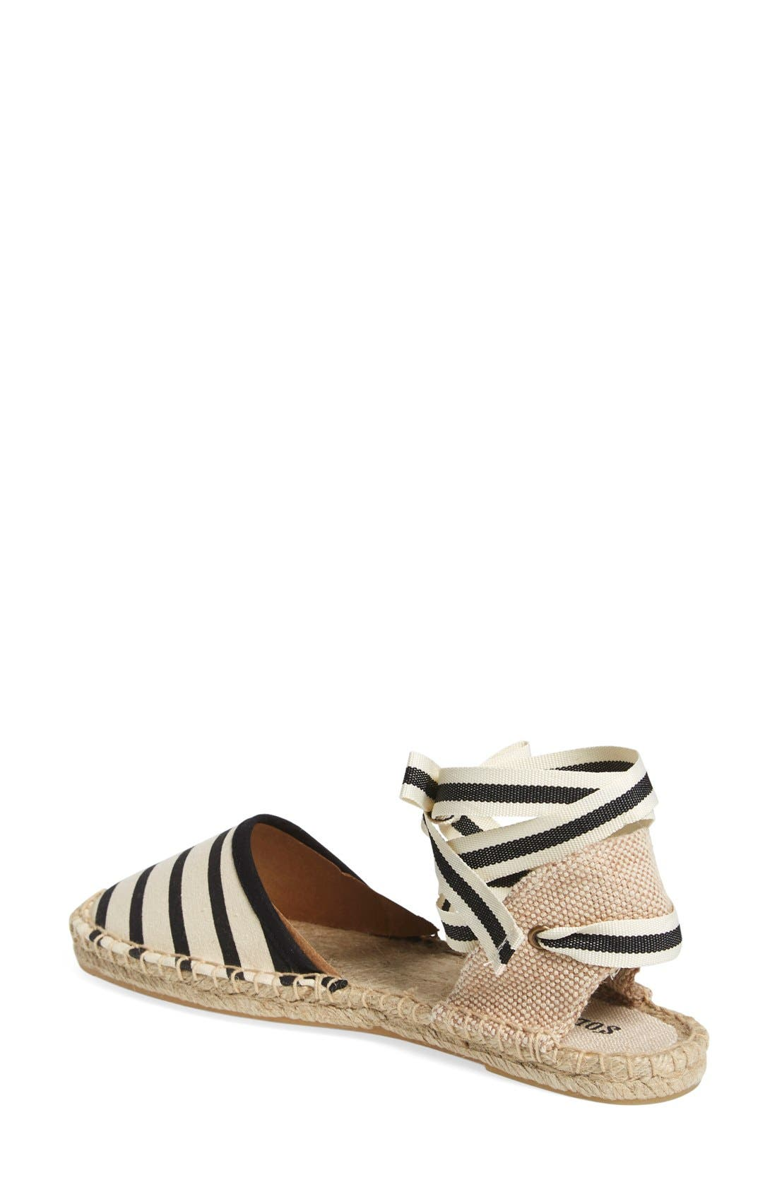 Alternate Image 2  - Soludos Lace-Up Espadrille Sandal (Women)