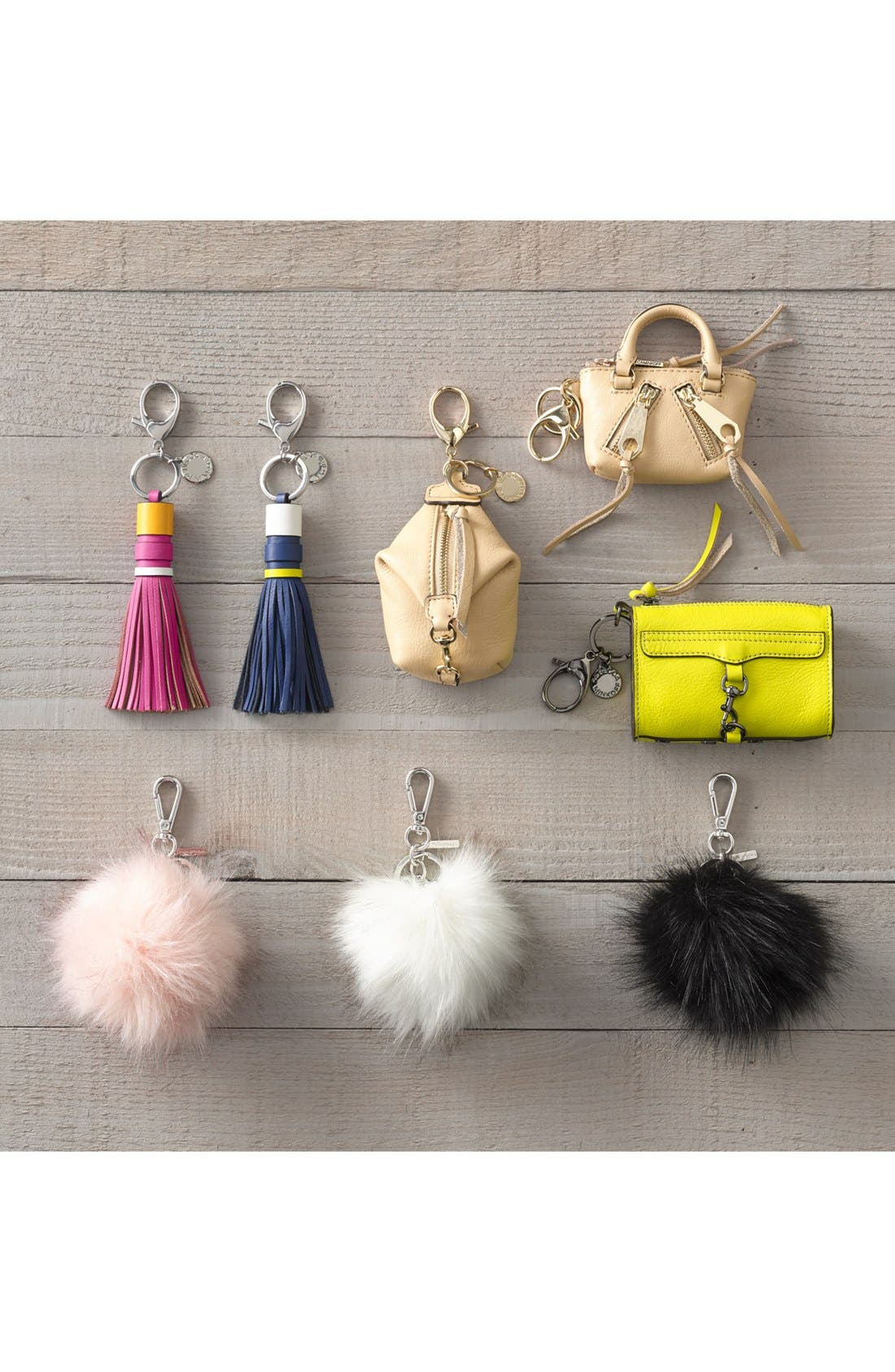 Alternate Image 2  - Rebecca Minkoff Leather Tassel Bag Charm (Nordstrom Exclusive)