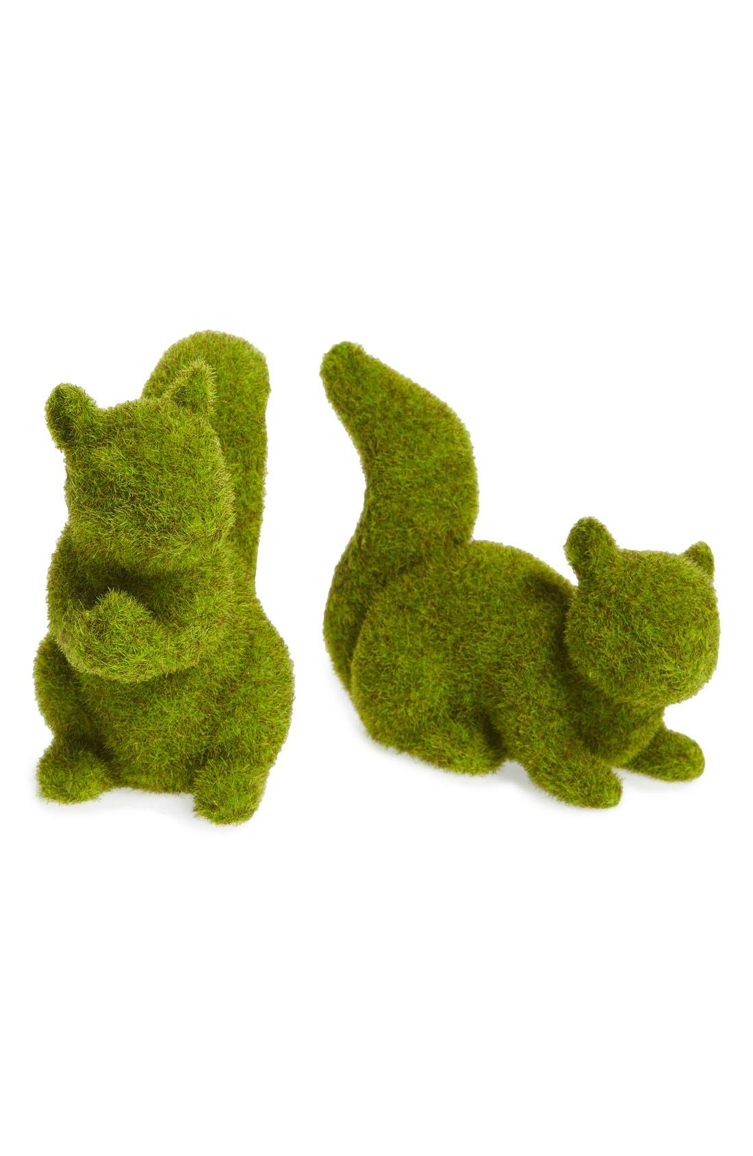 Alternate Image 1 Selected - ALLSTATE 'Moss Squirrel' Figurines (Set of 2)
