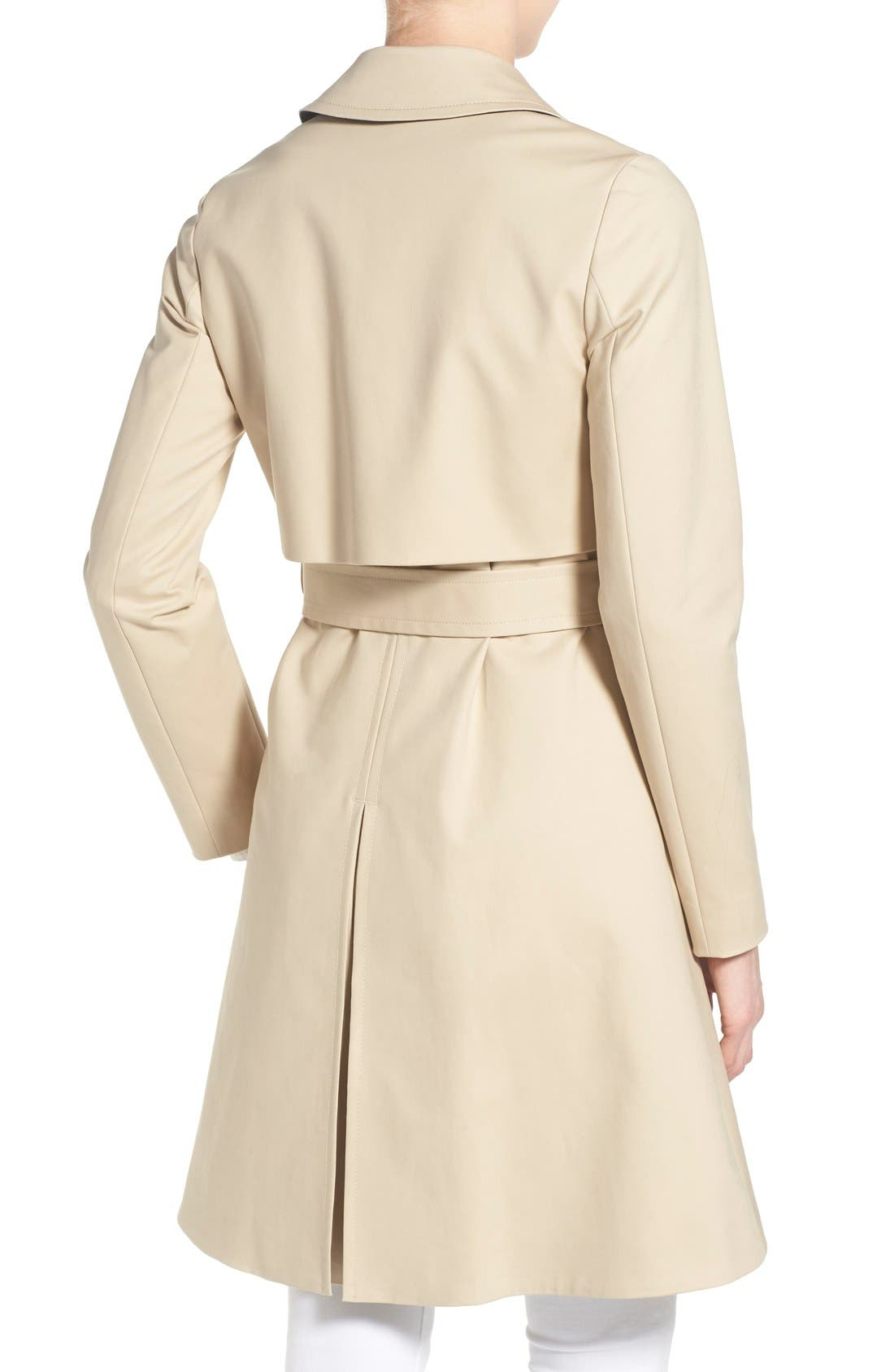 Alternate Image 2  - Ted Baker London Belted A-Line Macintosh Coat