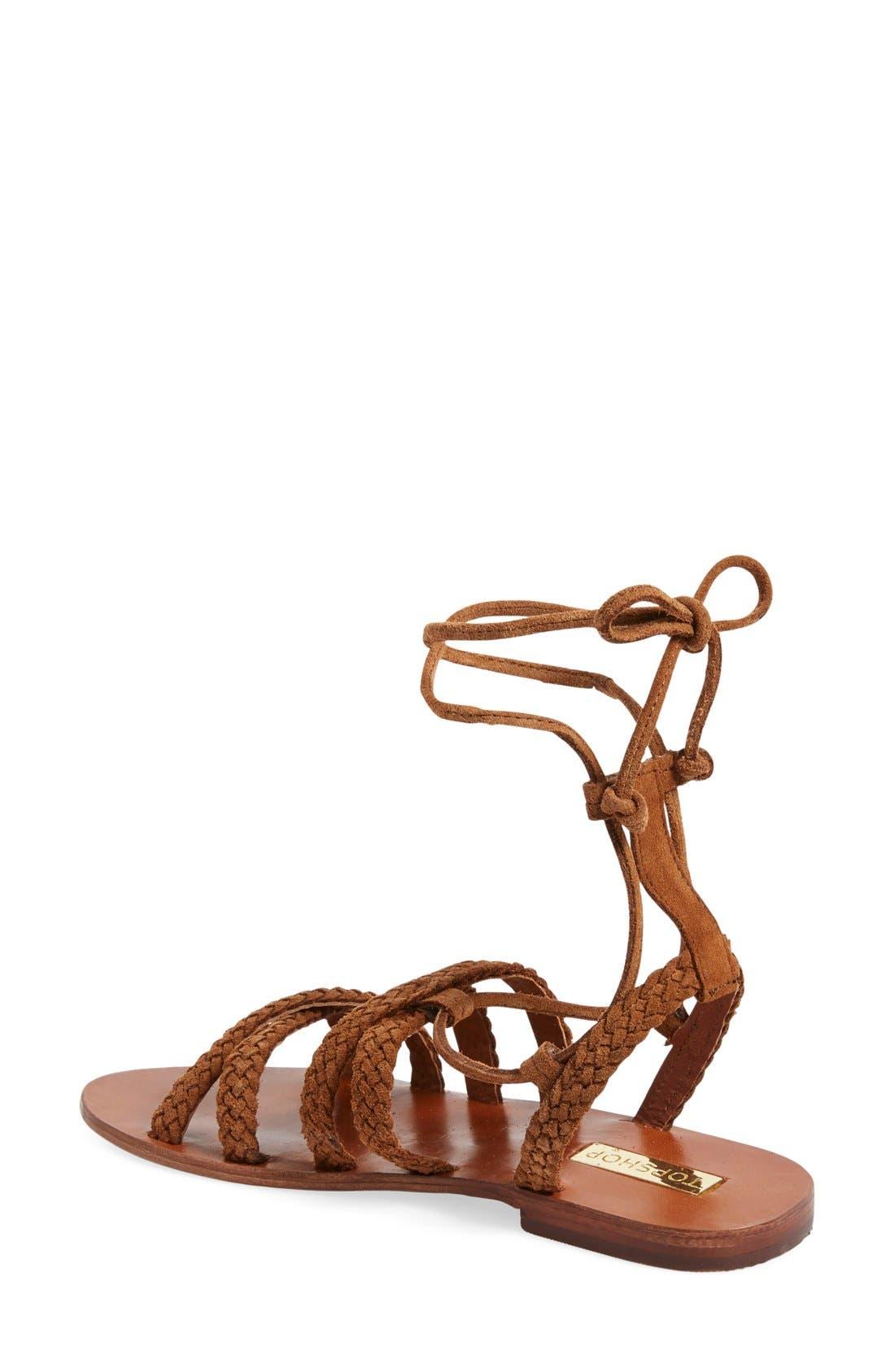 Alternate Image 2  - Topshop 'Farewell' Gladiator Sandals (Women)