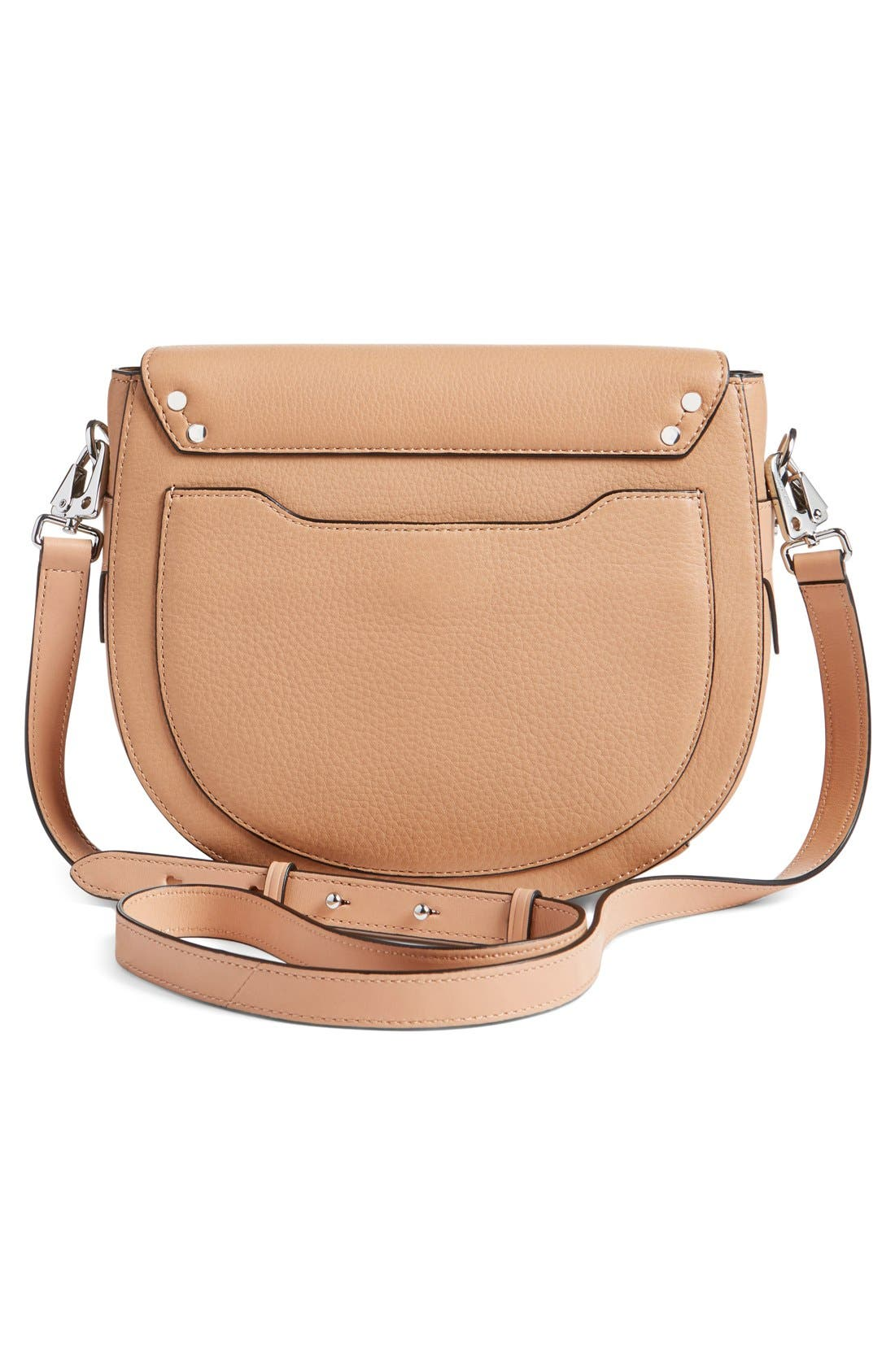 Alternate Image 2  - rag & bone 'Flight' Leather Crossbody Saddle Bag