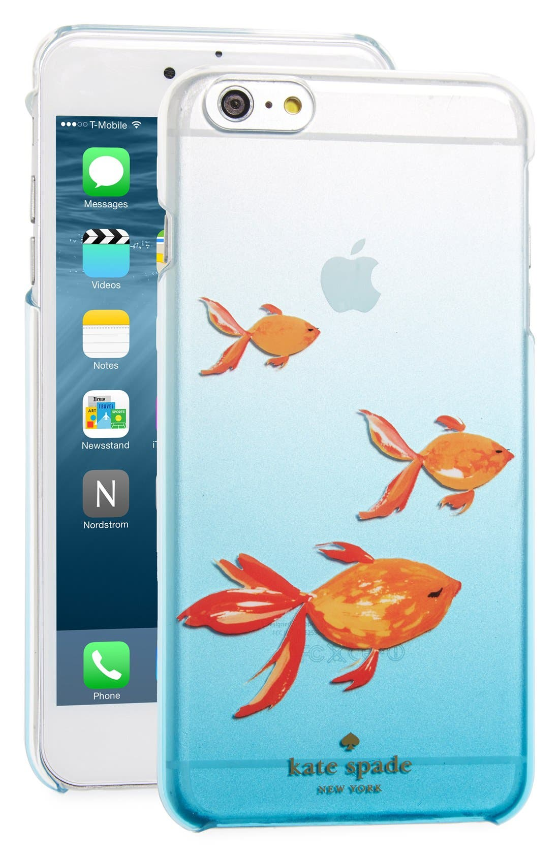 Main Image - kate spade new york 'goldfish' iPhone 6 Plus & 6s Plus case