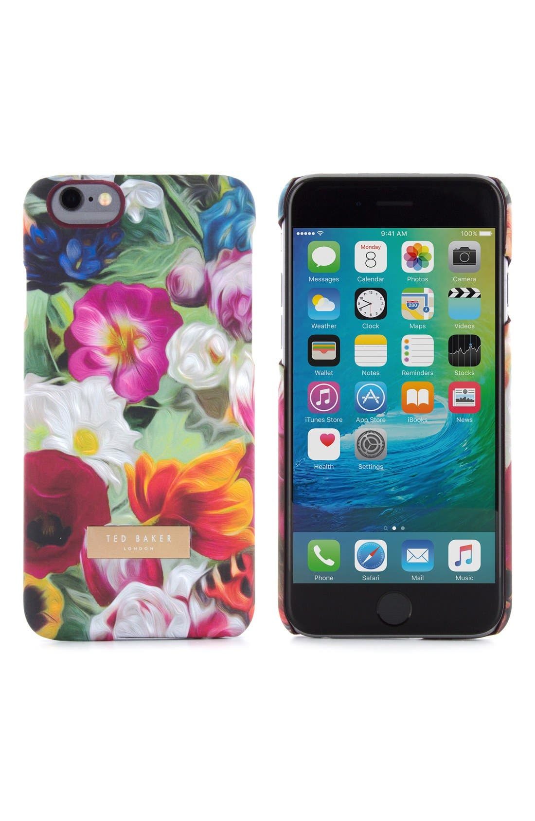 Alternate Image 1 Selected - Ted Baker London iPhone Floral Swirl 6/6s Case