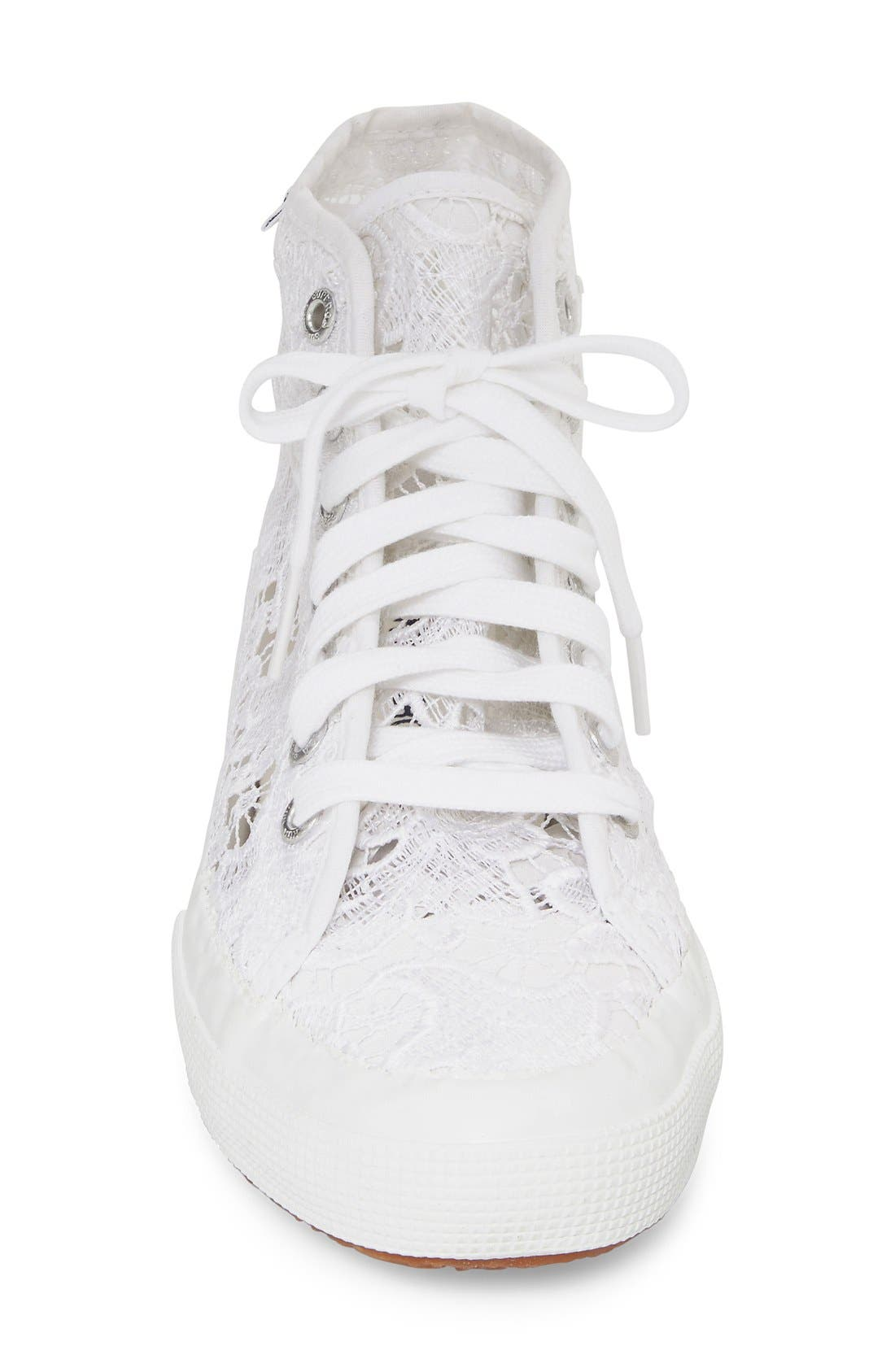 Alternate Image 3  - Superga 'Macramew' High Top Sneaker (Women)