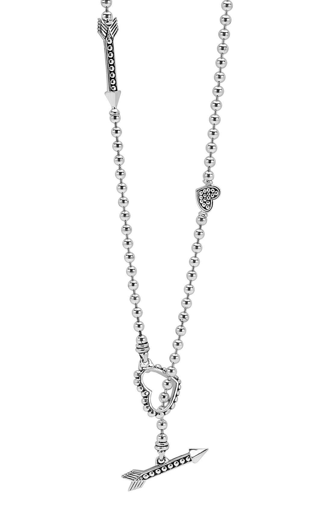LAGOS 'Beloved' Heart & Arrow Link Necklace