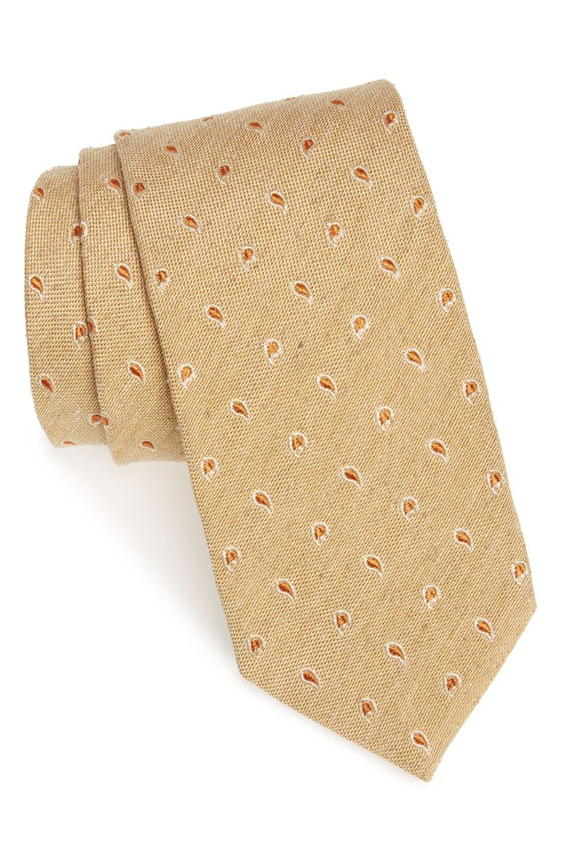 strong suit paisley silk wool tie nordstrom