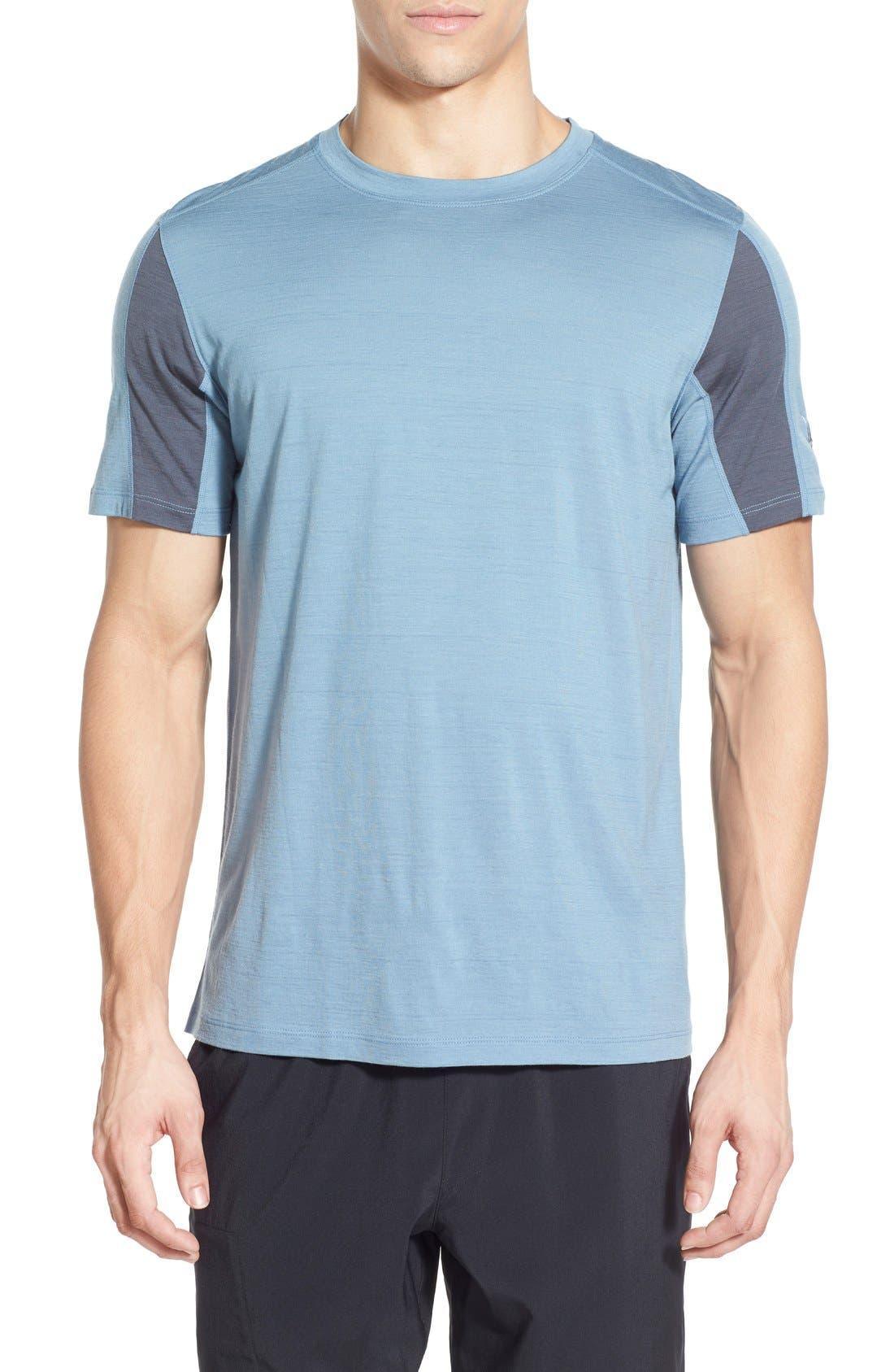 IBEX 'W2 Sport' Merino Wool Jersey T-Shirt