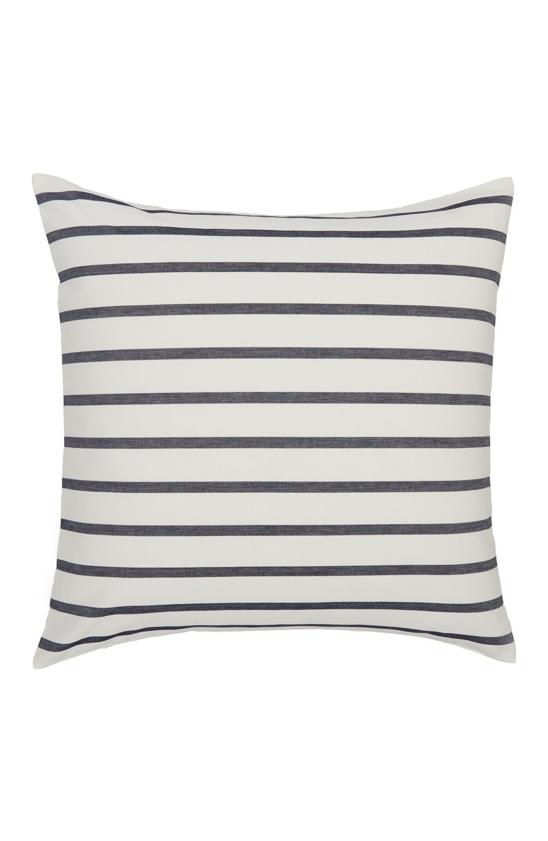 Alternate Image 1 Selected - kate spade new york 'harbour stripe' euro sham