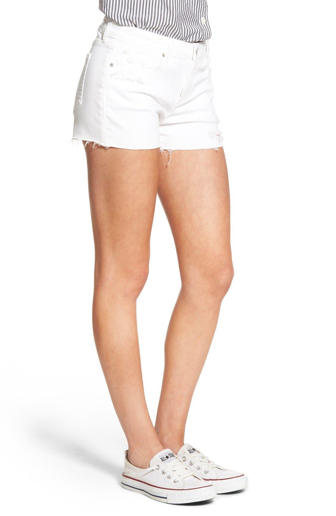 Alternate Image 3  - Articles of Society 'Madre' Cutoff Denim Shorts