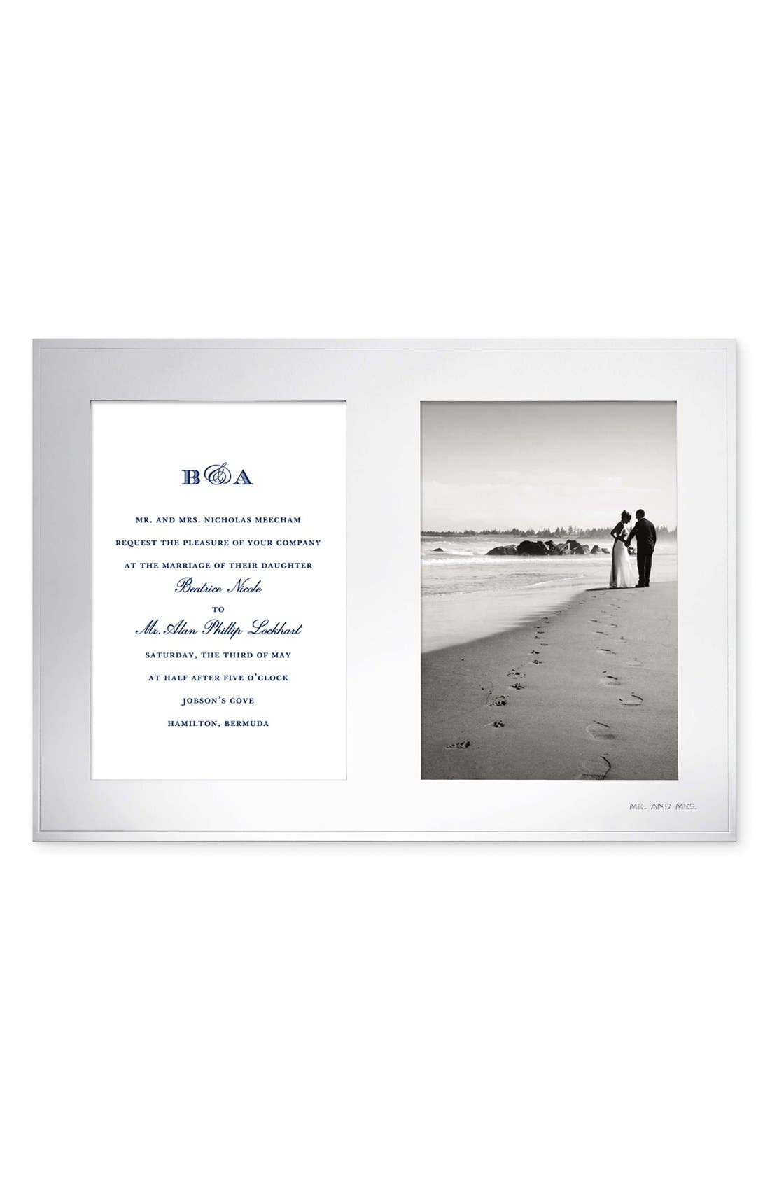 Alternate Image 1 Selected - kate spade new york 'darling point' double invitation frame