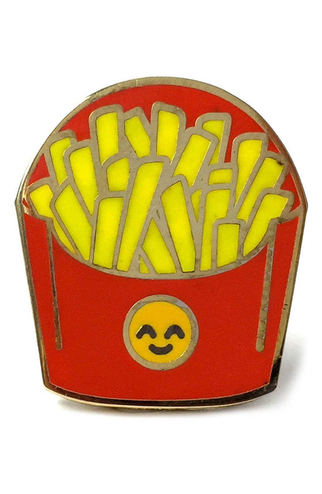 Alternate Image 1 Selected - PINTRILL 'Fries' Fashion Accessory Pin